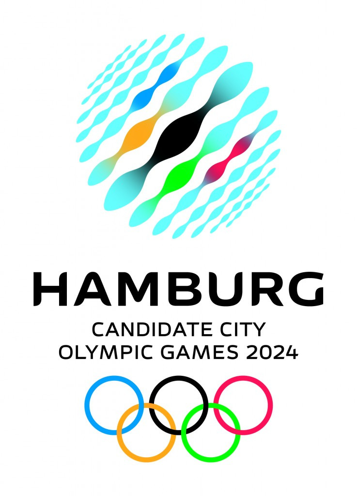 """Exclusive: The """"water mirror"""" logo with which Hamburg hoped to bring the Olympics to Germany"""