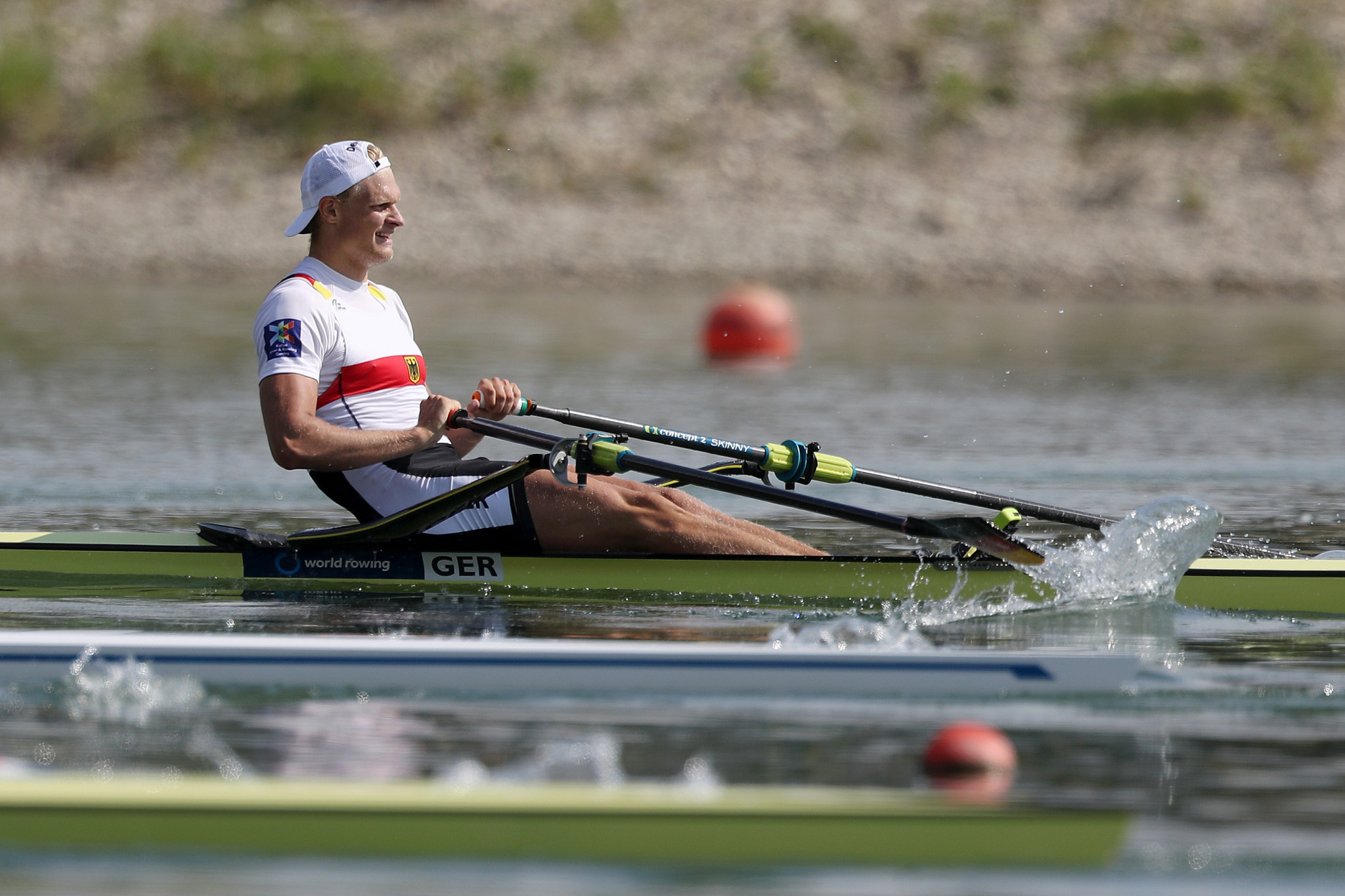 Defending champion Zeidler advances through repechage at European Rowing Championships