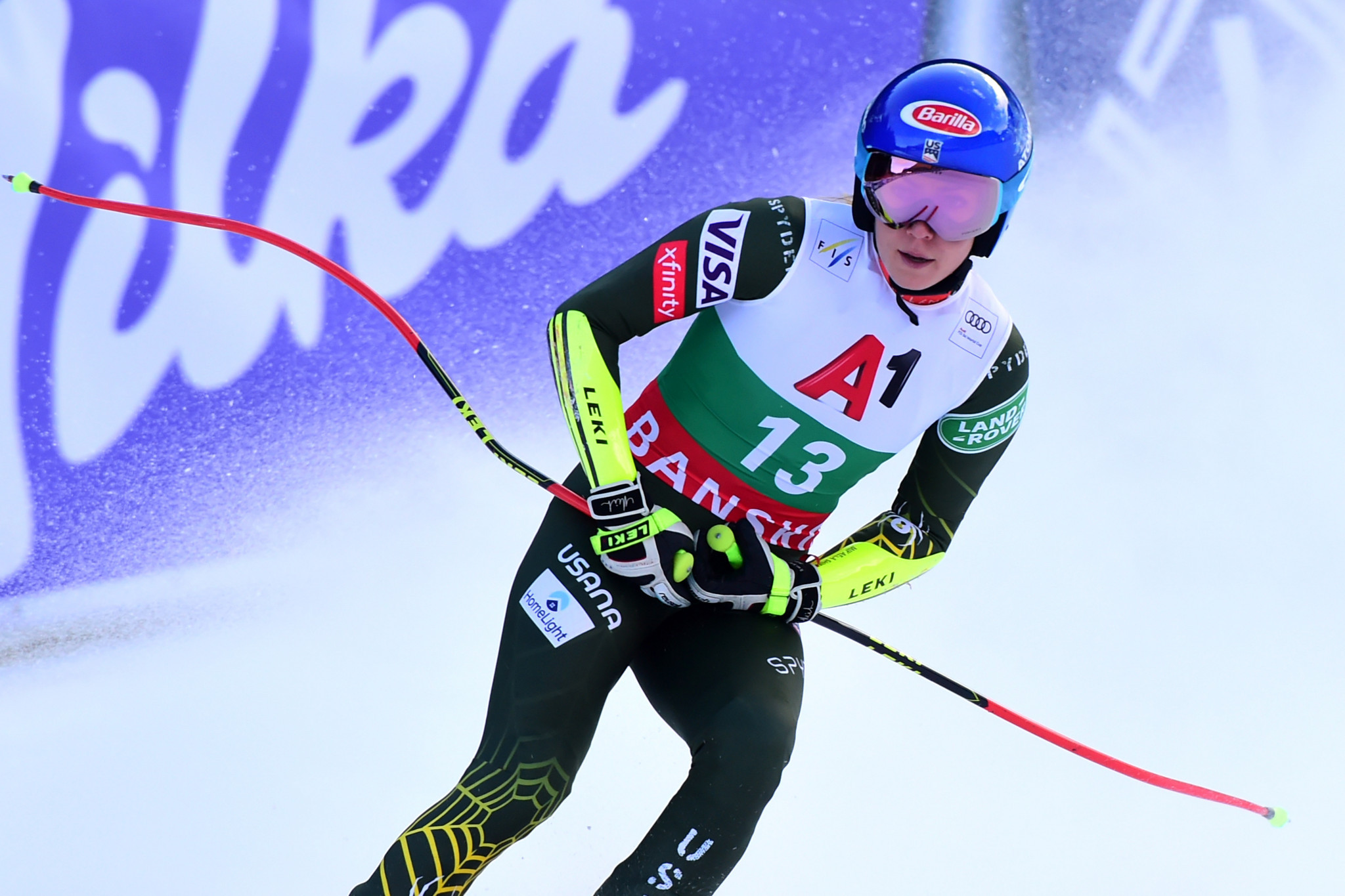 Mikaela Shiffrin will miss the opening event of the World Cup season with a back complaint ©Getty Images