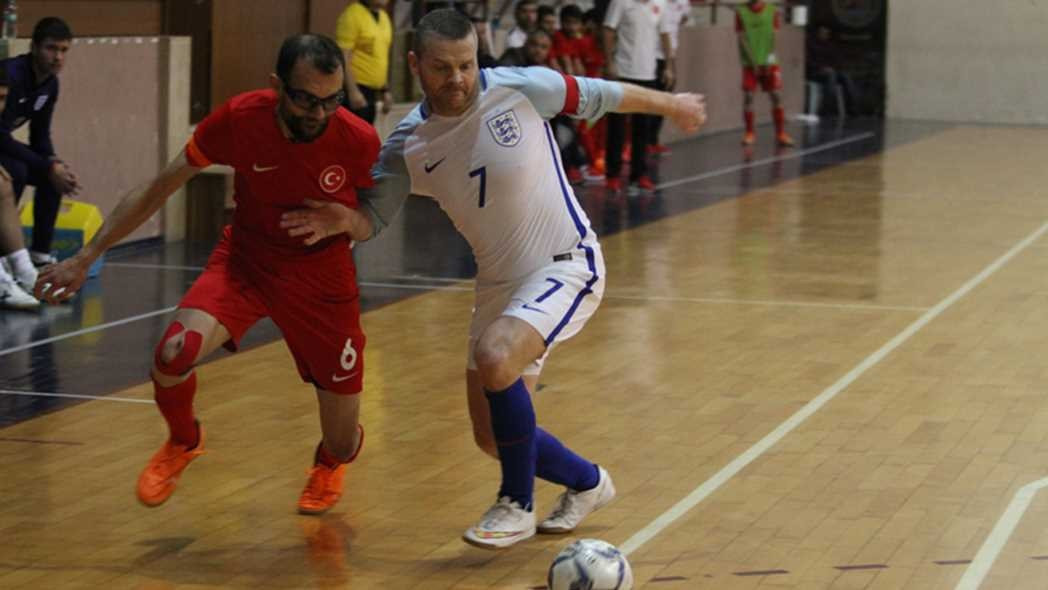 Former captain of England partially-sighted futsal team Daley recognised in Queen's Birthday Honours