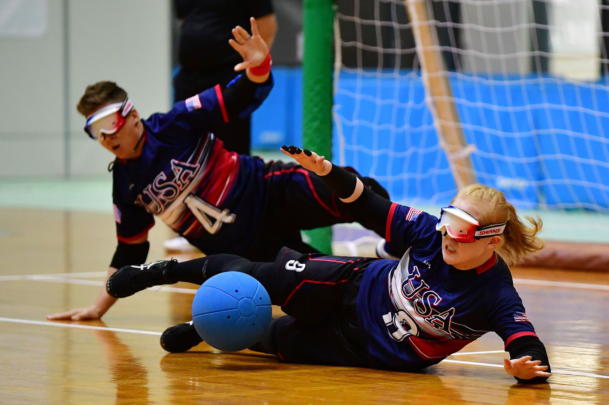 Goalball players will need to adhere to a new set of measures to combat the spread of COVID-19 if the sport is to safely return amid the pandemic ©Getty Images