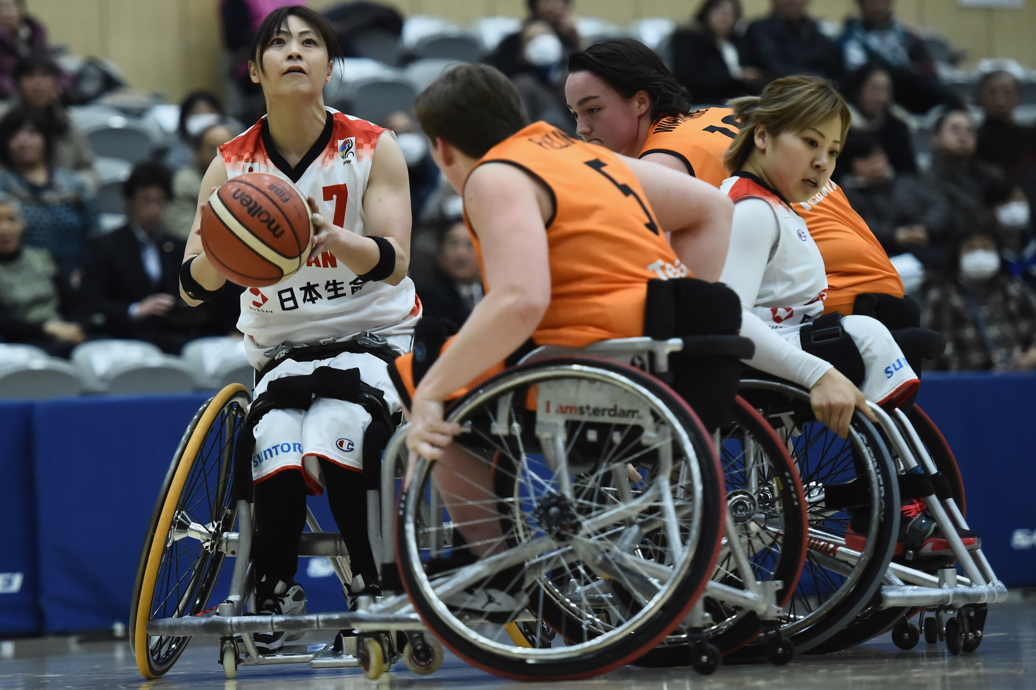 The IPC's dispute with the IWBF stems from the IWBF being found non-compliant with the 2015 IPC Athlete Classification Code ©Getty Images