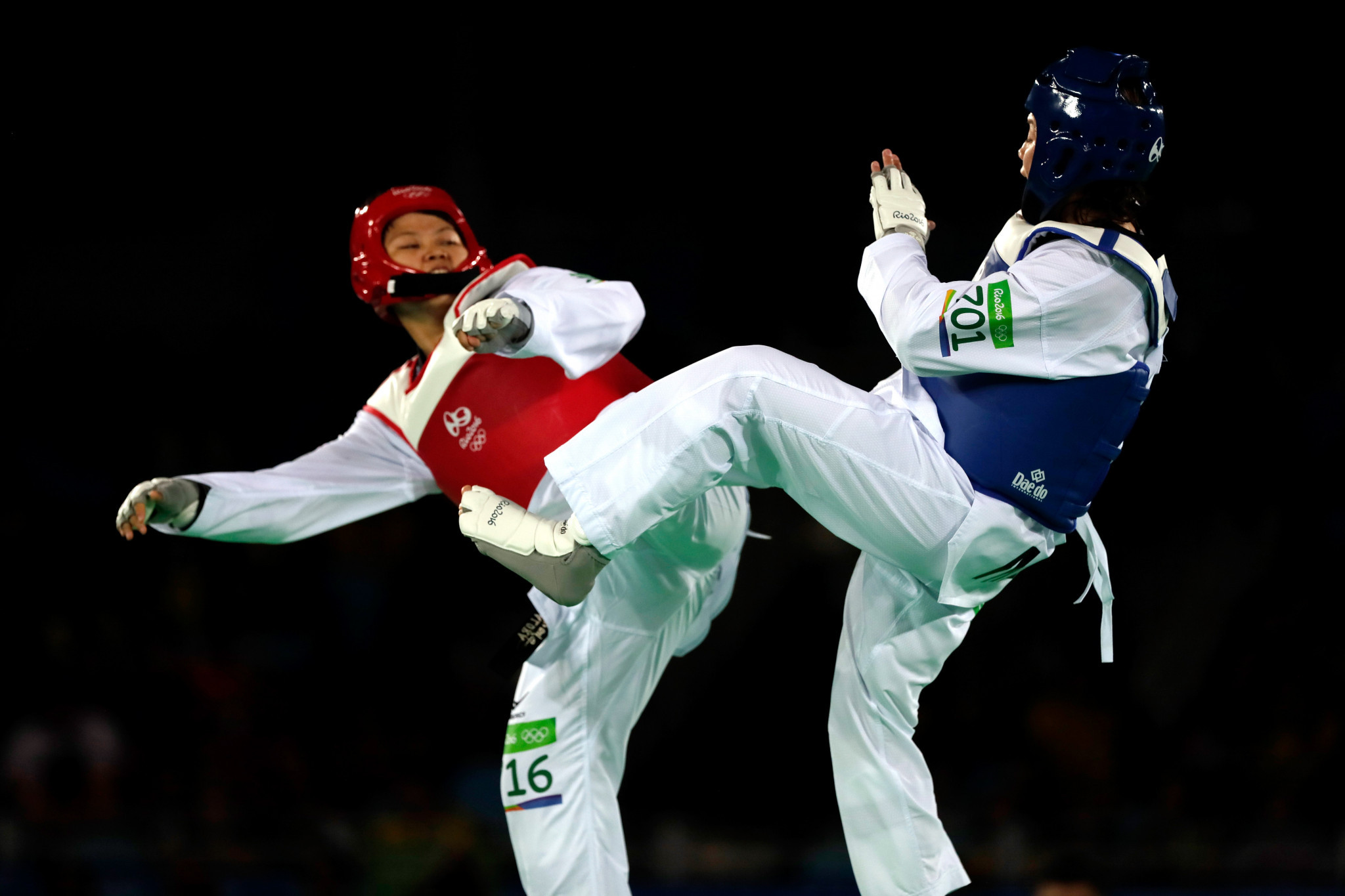 Alora lost to María Espinoza of Mexico in the opening round at Rio 2016 ©Getty Images