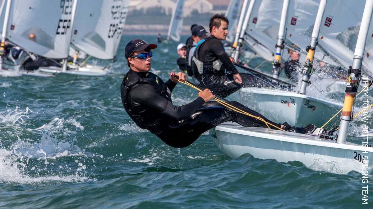 Beckett and Hameeteman extend leads at European Laser Championships