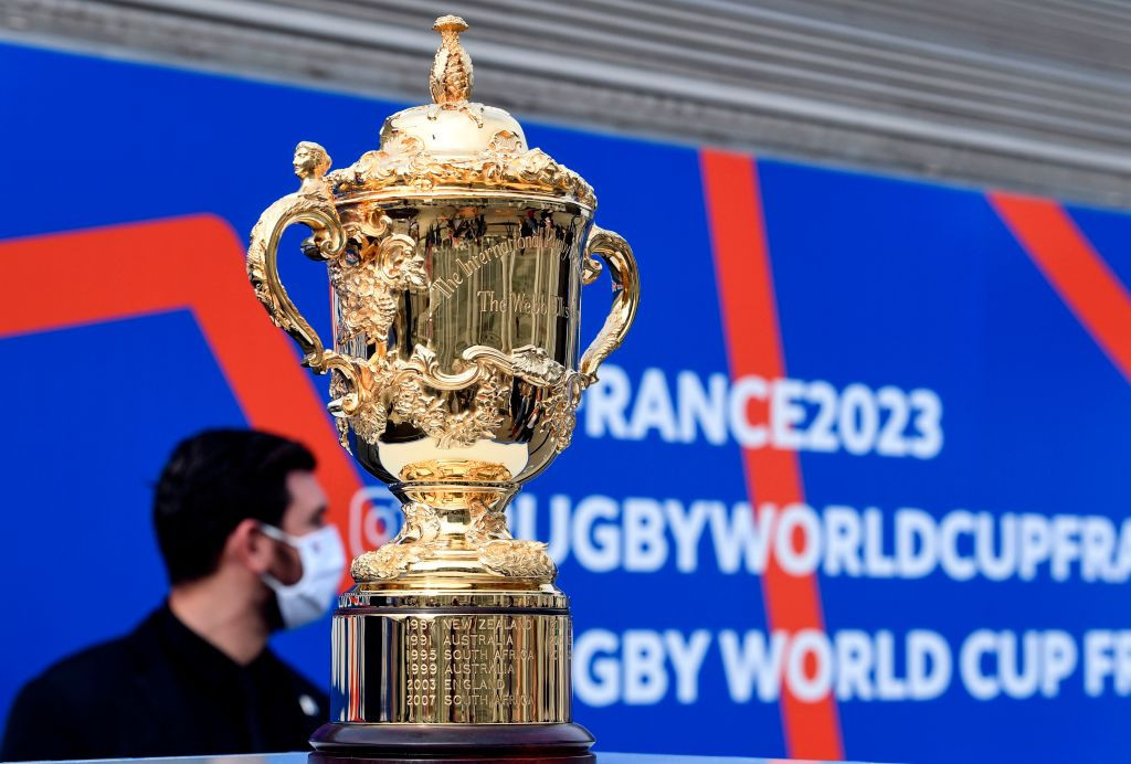 World Rugby said it was on track to fill its inventory of sponsors for the 2023 Rugby World Cup in France ©Getty Images