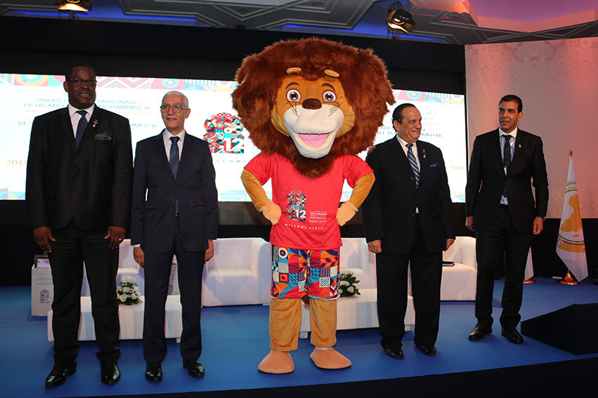 An Atlas lion was the mascot for the last African Games, in Morocco last year ©Rabat 2019