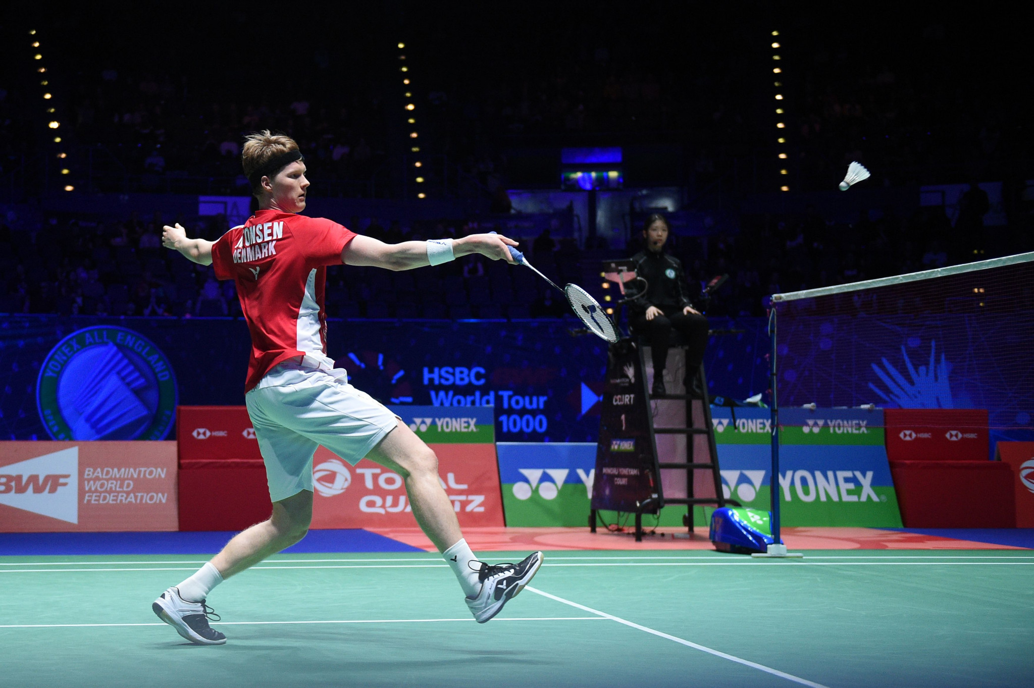 The Denmark open is the first international BWF event for seven months ©Getty Images