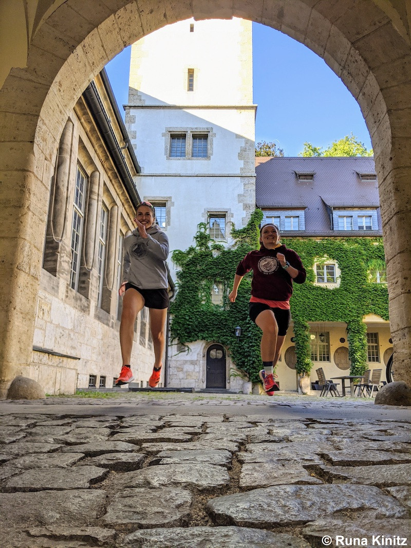 German University Sports Federation celebrates IDUS with running challenge