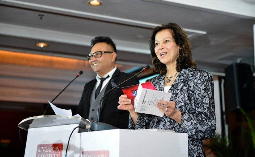 Singapore National Olympic Council vice-president Annabel Pennefather is one of two new editions to the IAAF Ethics Commission ©SNOC