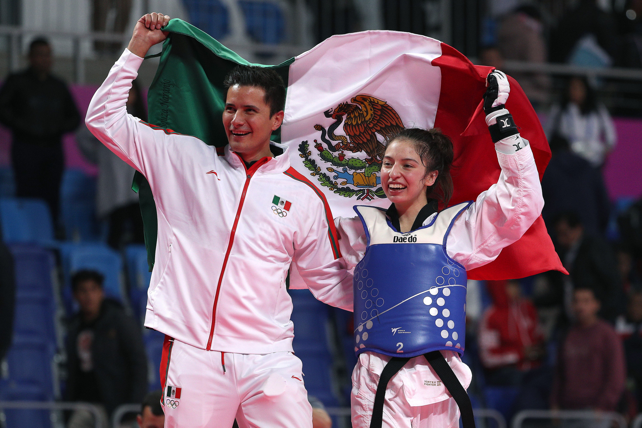 Daniela Souza won one of Mexico's four taekwondo gold medals at the Lima 2019 Pan American Games ©Getty Images