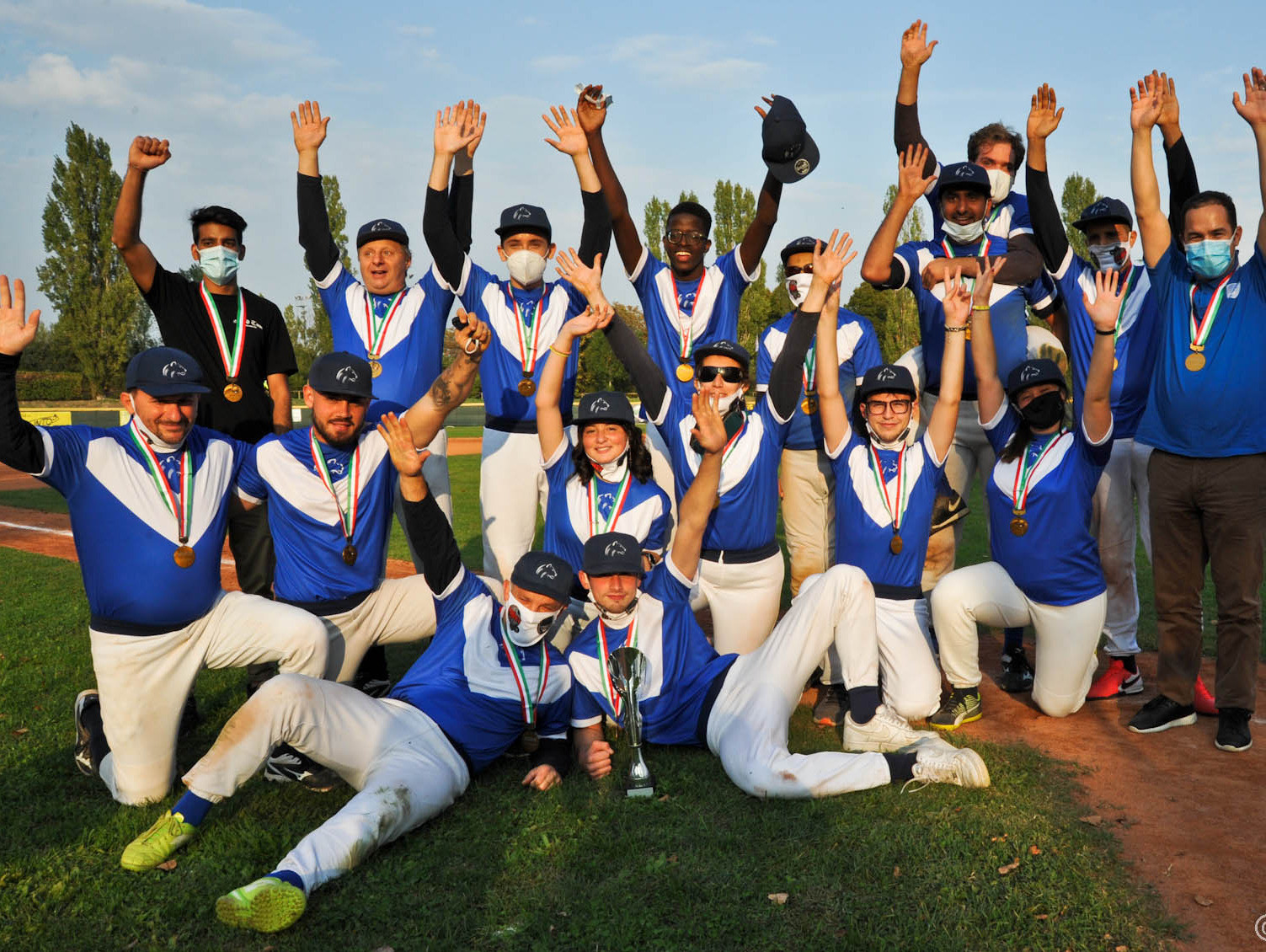 Leonessa Brescia triumph in Italian Baseball for the Blind Championship