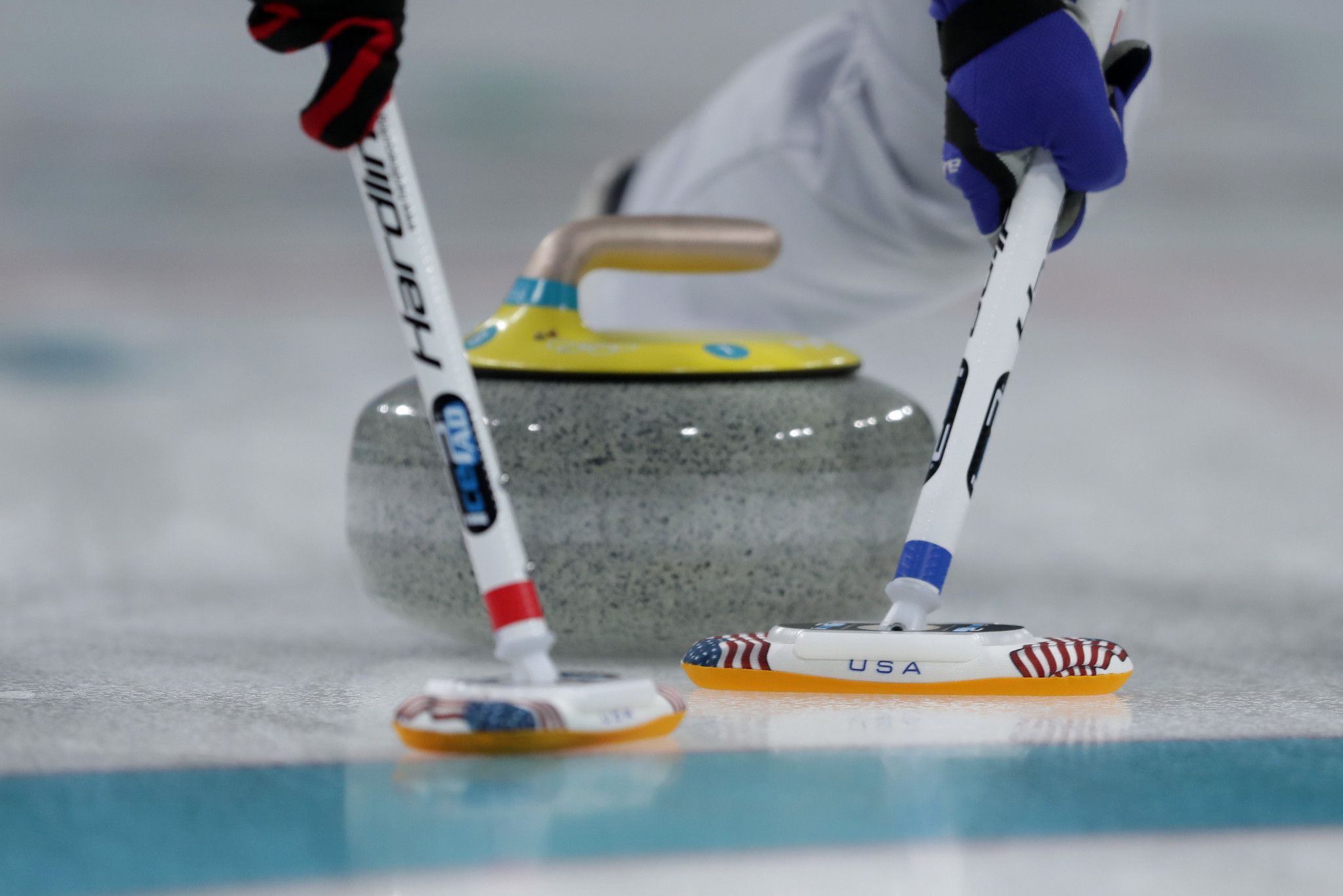Christopher Hamilton will aim to raise the profile of curling in the lead-up to the Beijing 2022 Winter Olympics ©Getty Images