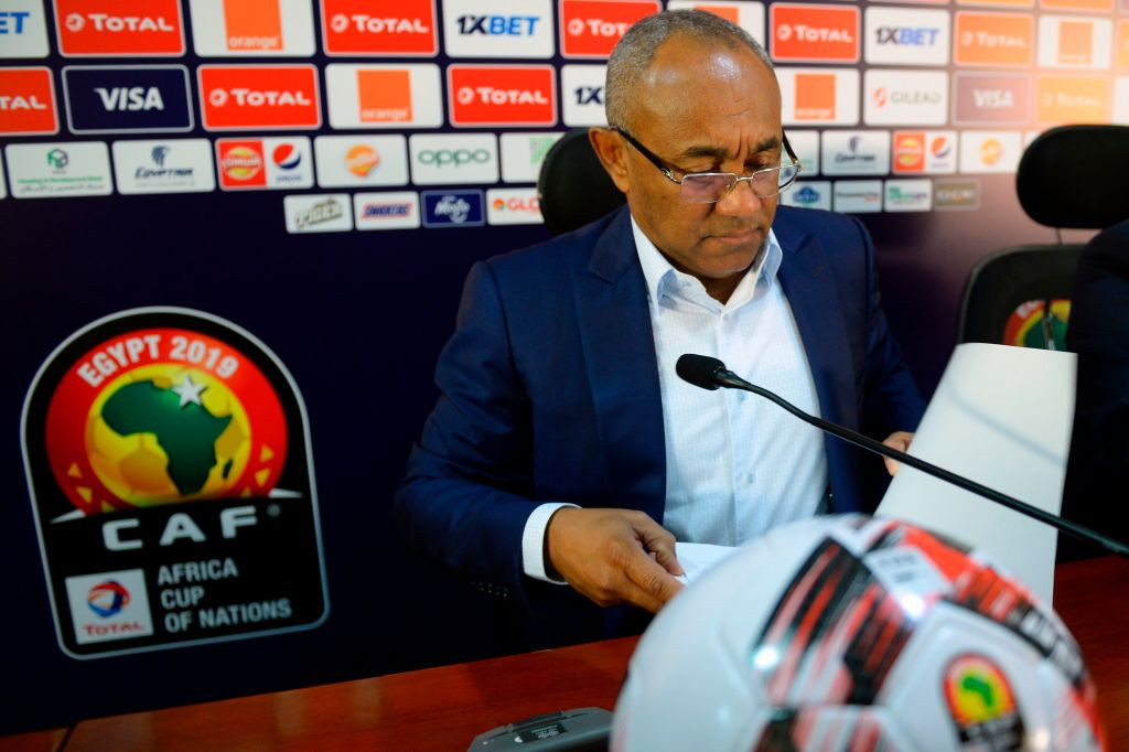 CAF President Ahmad has not yet revealed whether he will stand for a second term ©Getty Images