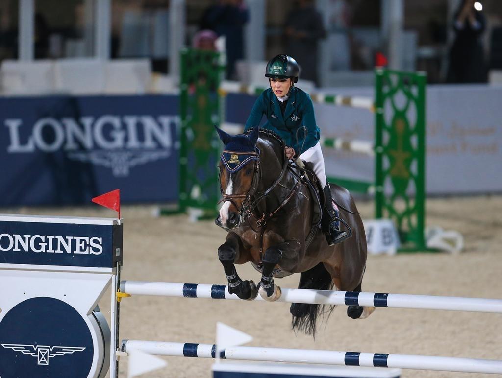 Dalma Malhas won a Youth Olympic bronze medal in equestrian at Buenos Aires 2018 ©Riyadh 2030