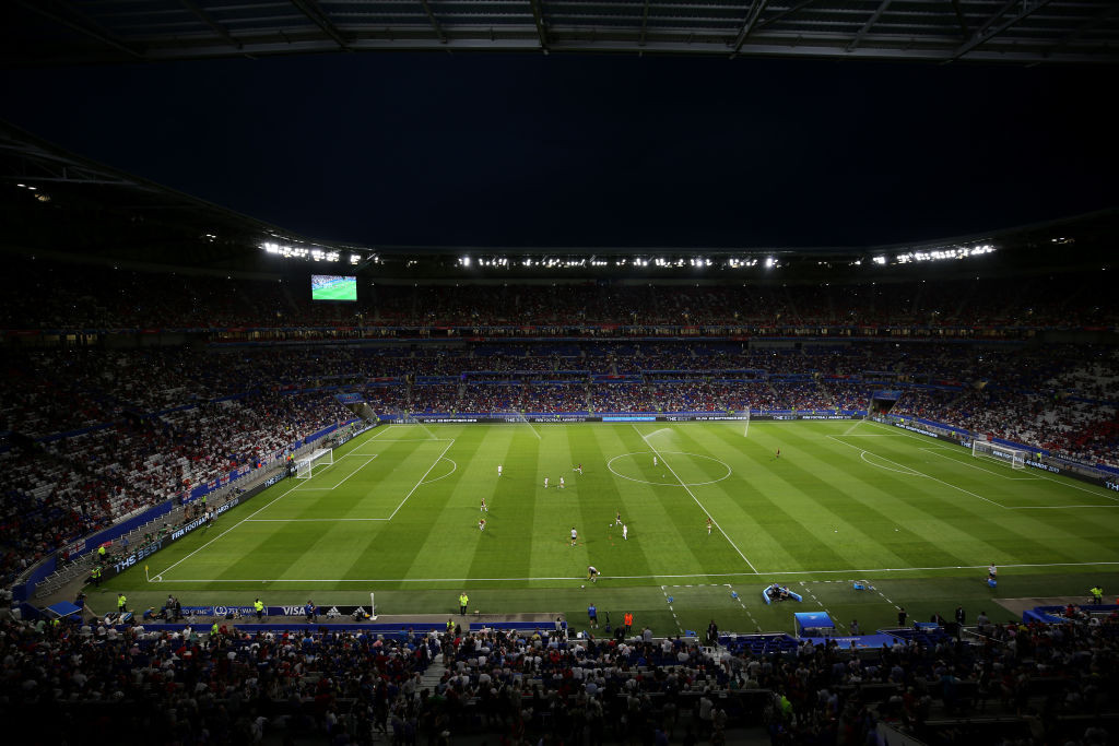 The Stade de France has been chosen to host 10 matches at the 2023 Rugby World Cup ©Getty Images
