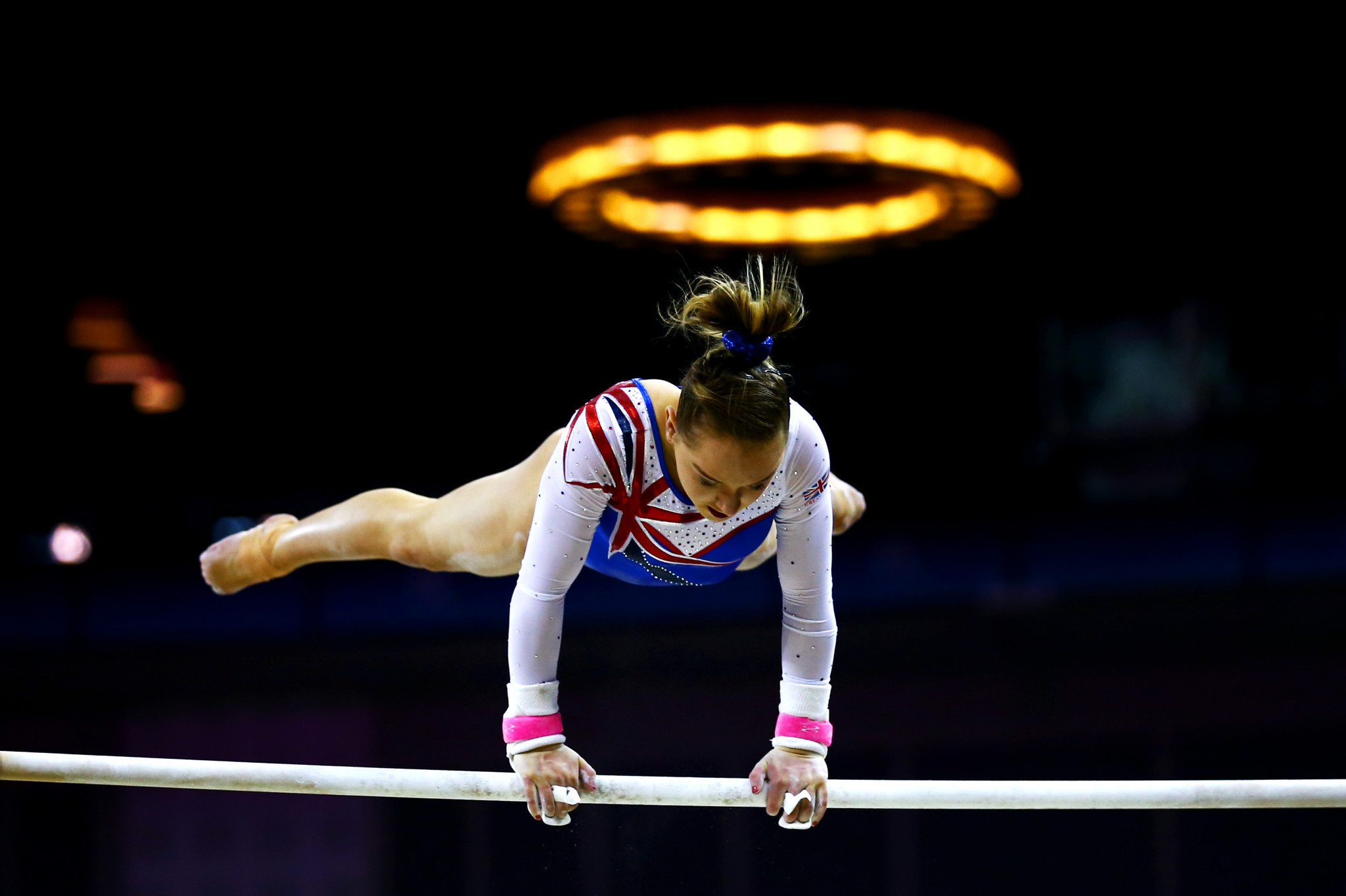 Jane Allen, chief executive of British Gymnastics, announced today that she is to retire in the wake of abuse allegations made by Amy Tinkler -pictured - and others ©Getty Images