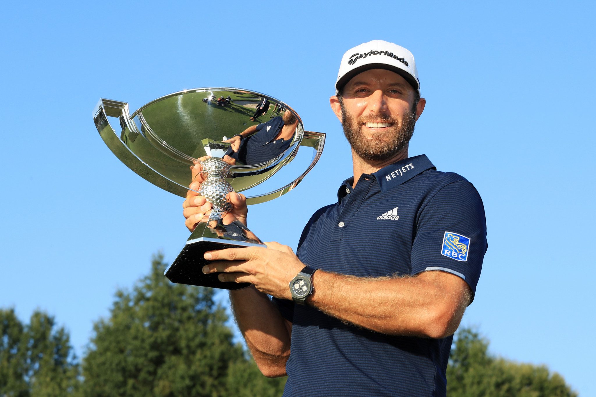 Dustin Johnson enjoyed a successful September after claiming the FedExCup Championship title ©Getty Images