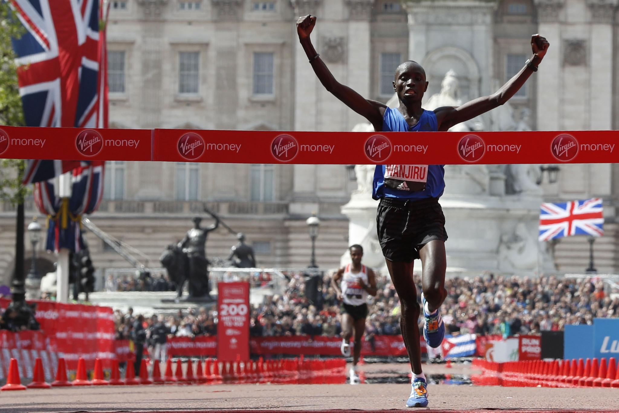 Daniel Wanjiru won the London Marathon back in 2017 ©Getty Images
