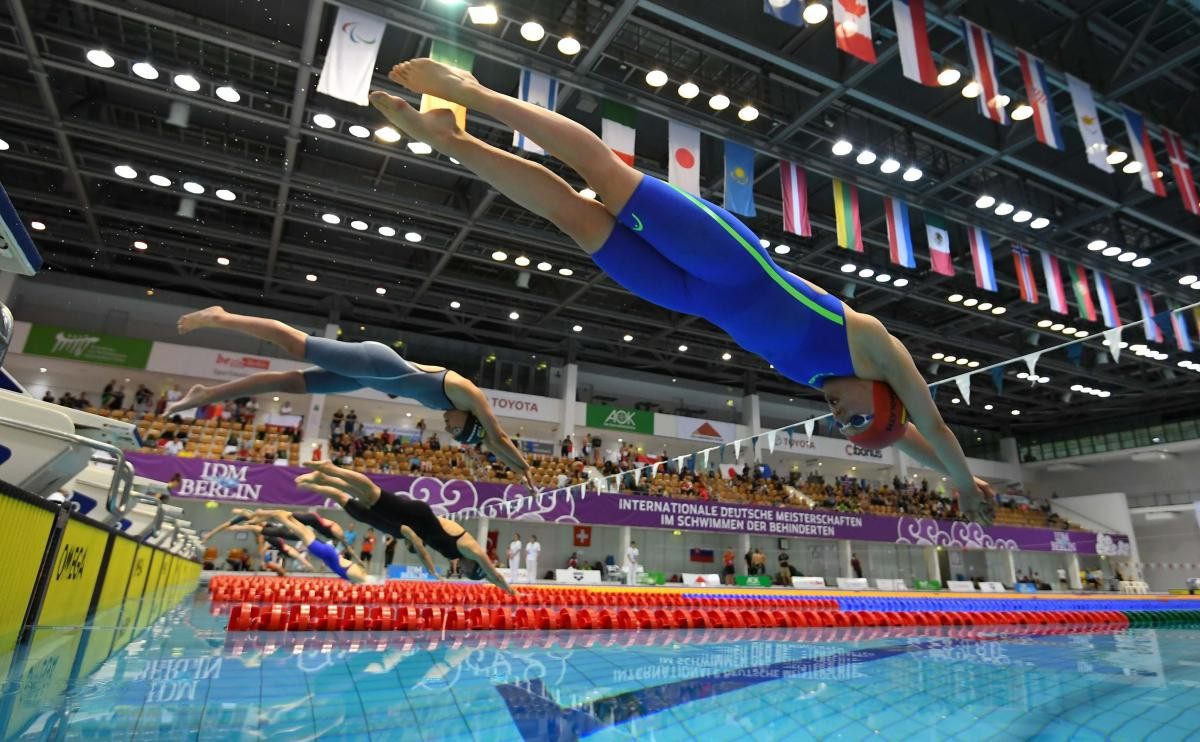 Competitors from 11 countries to take part in World Para Swimming World Series in Berlin