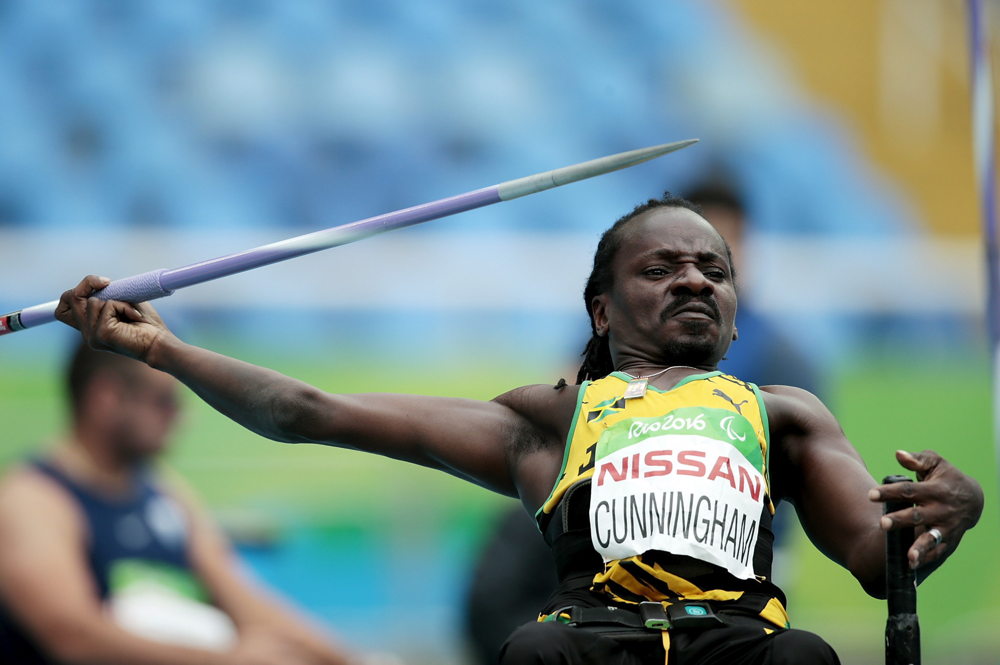 Alphanso Cunningham earned Jamaica's last Paralympic gold at London 2012 ©Getty Images