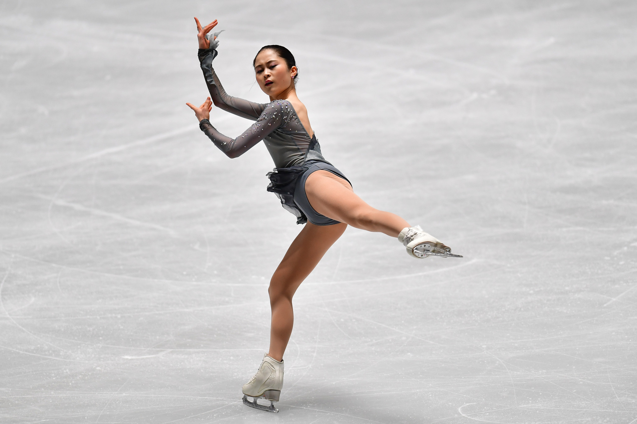 Japan's two-time world medallist Satoko Miyahara had been due to compete at Skate Canada ©Getty Images