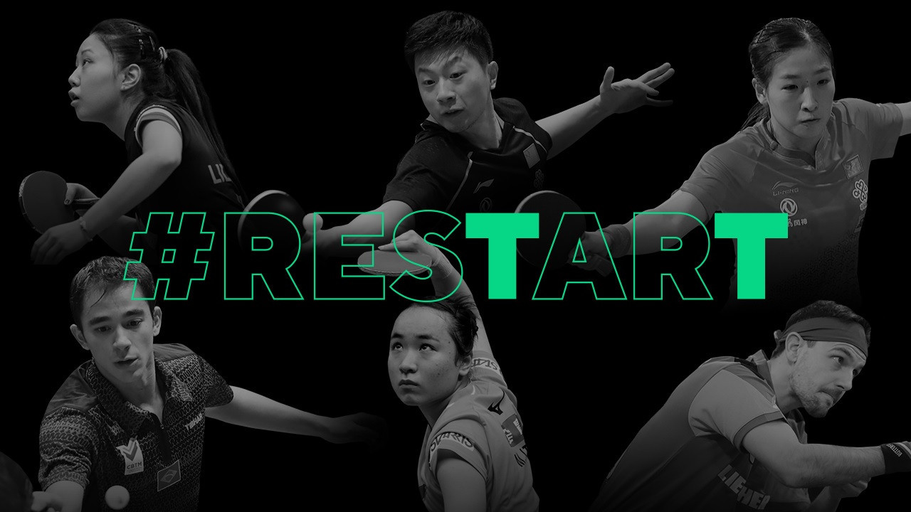 The World Cups will be held as part of the ITTF's restart series ©ITTF
