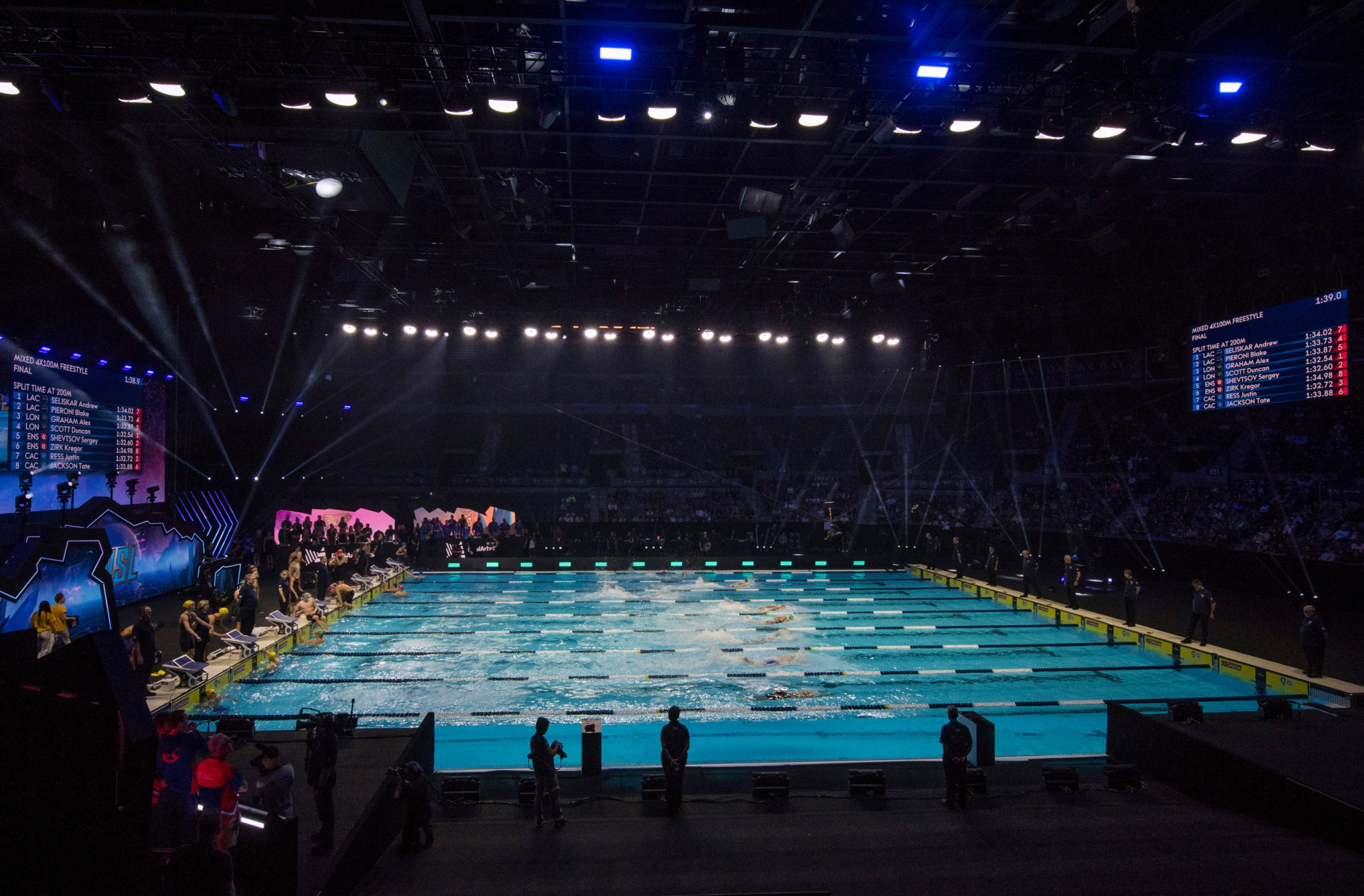 International Swimming League returns with revamped format and five-week schedule in Budapest