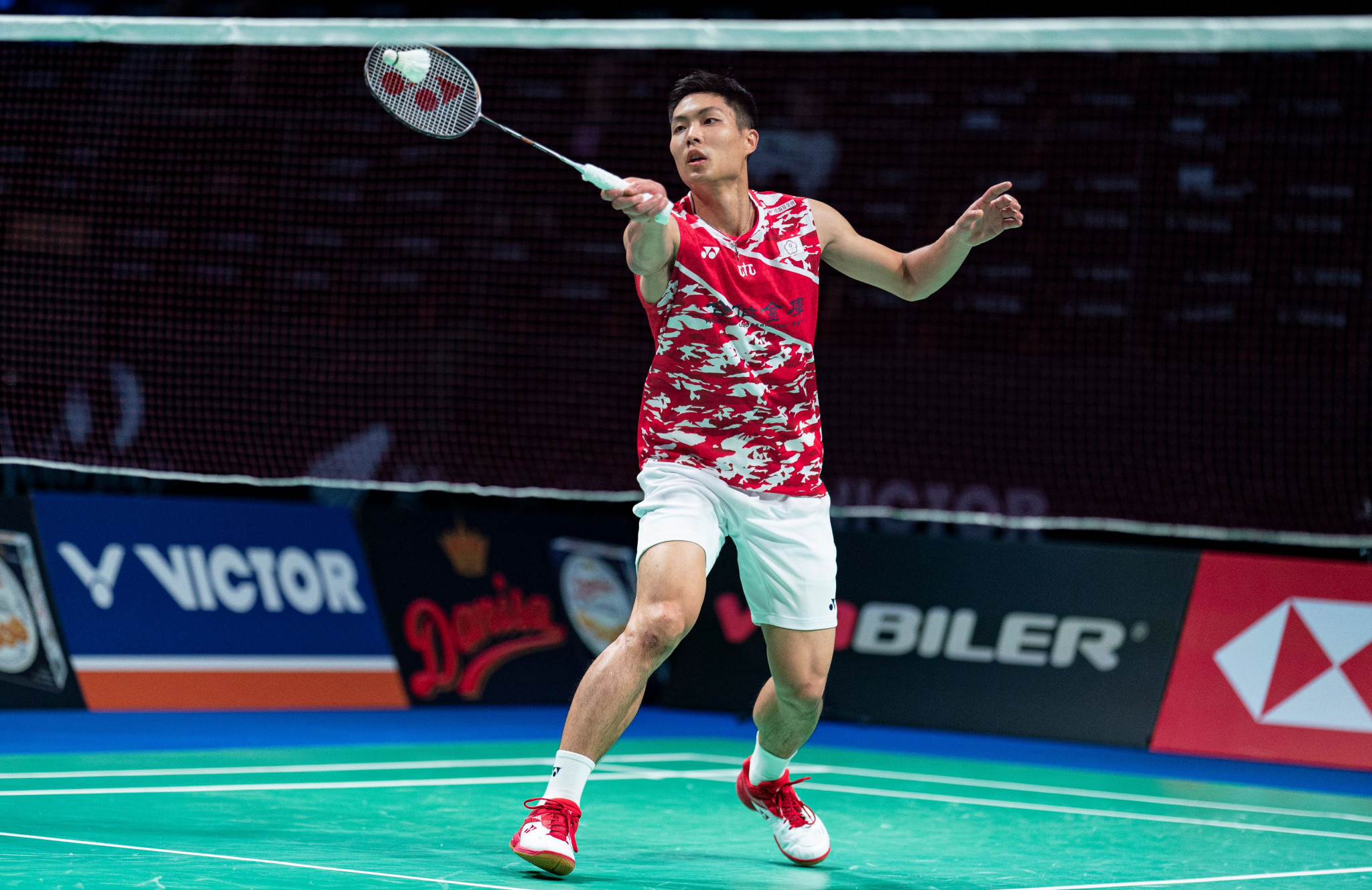 Chou advances to quarter-finals at BWF Denmark Open in Odense