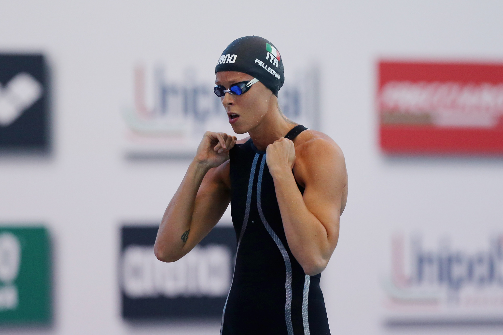 Pellegrini withdraws from International Swimming League after testing positive for COVID-19