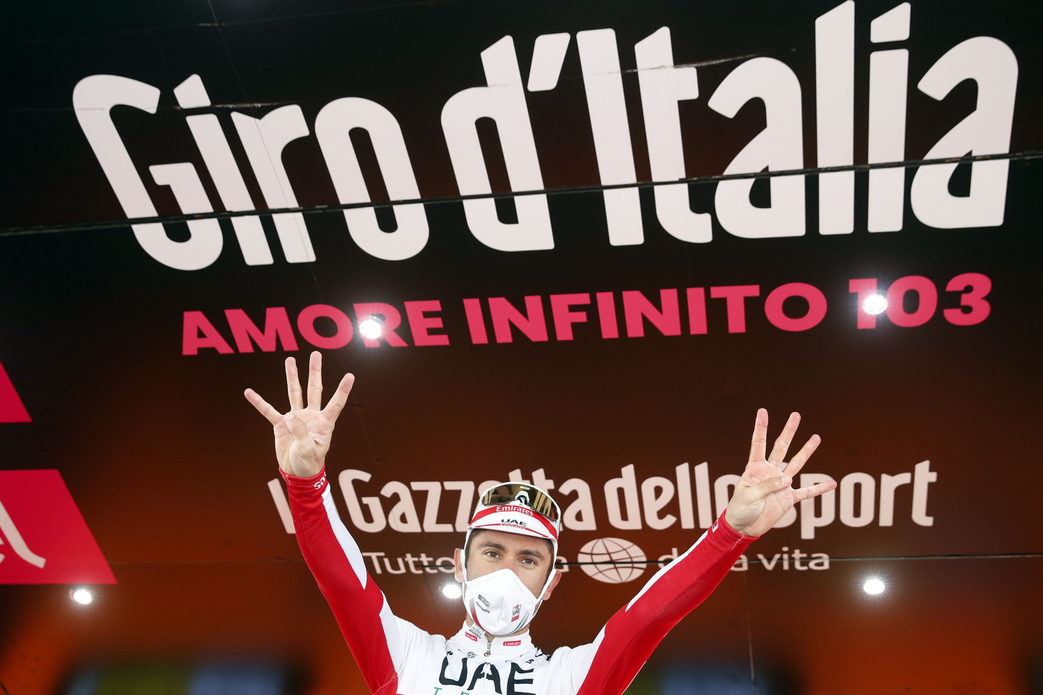 Diego Ulissi has won eight Giro d'Italia stages in his career