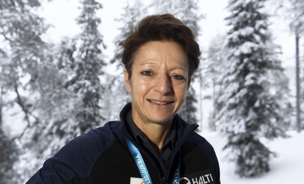 Sarah Lewis has been FIS secretary general for 20 years ©Getty Images
