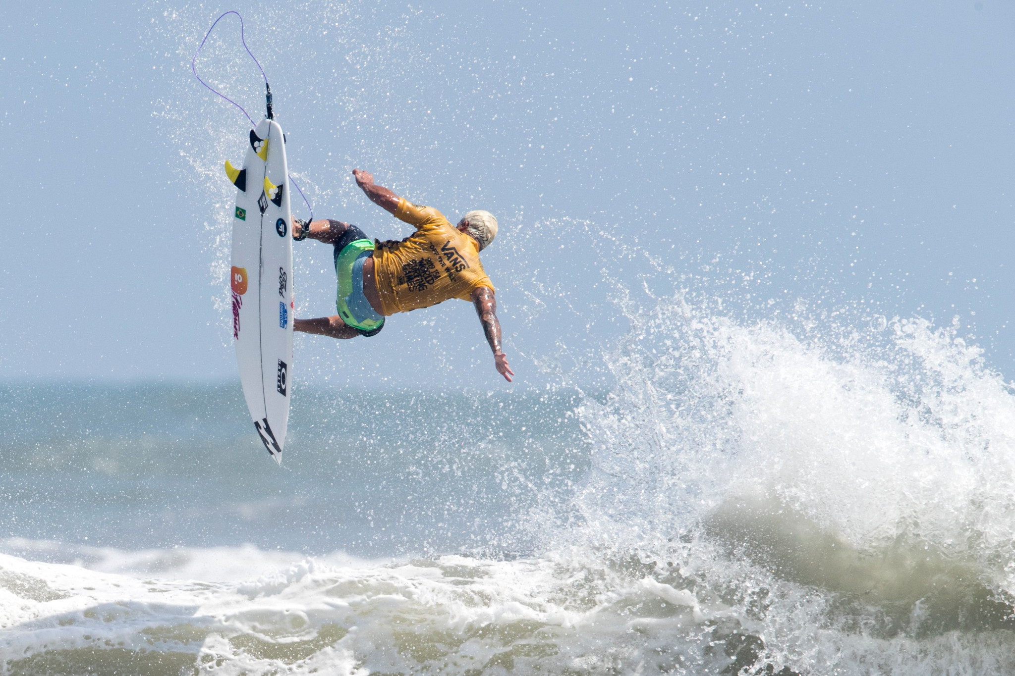 The ISA will hold its Annual General Meeting alongside next year's World Surfing Games ©Getty Images