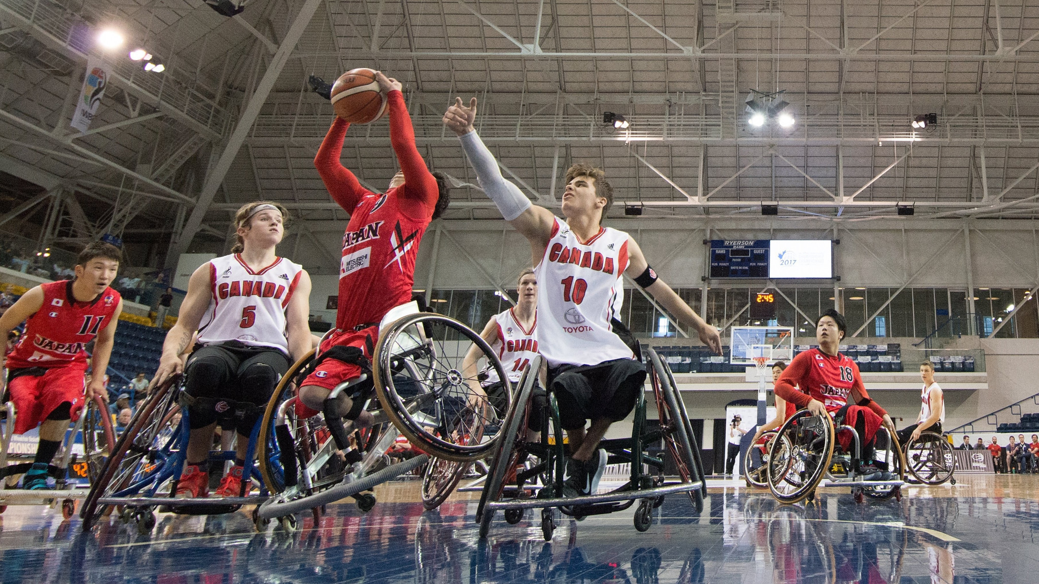 Japan is set to become the first country in Asia to stage the IWBF Under-23 Men's World Championship ©IWBF