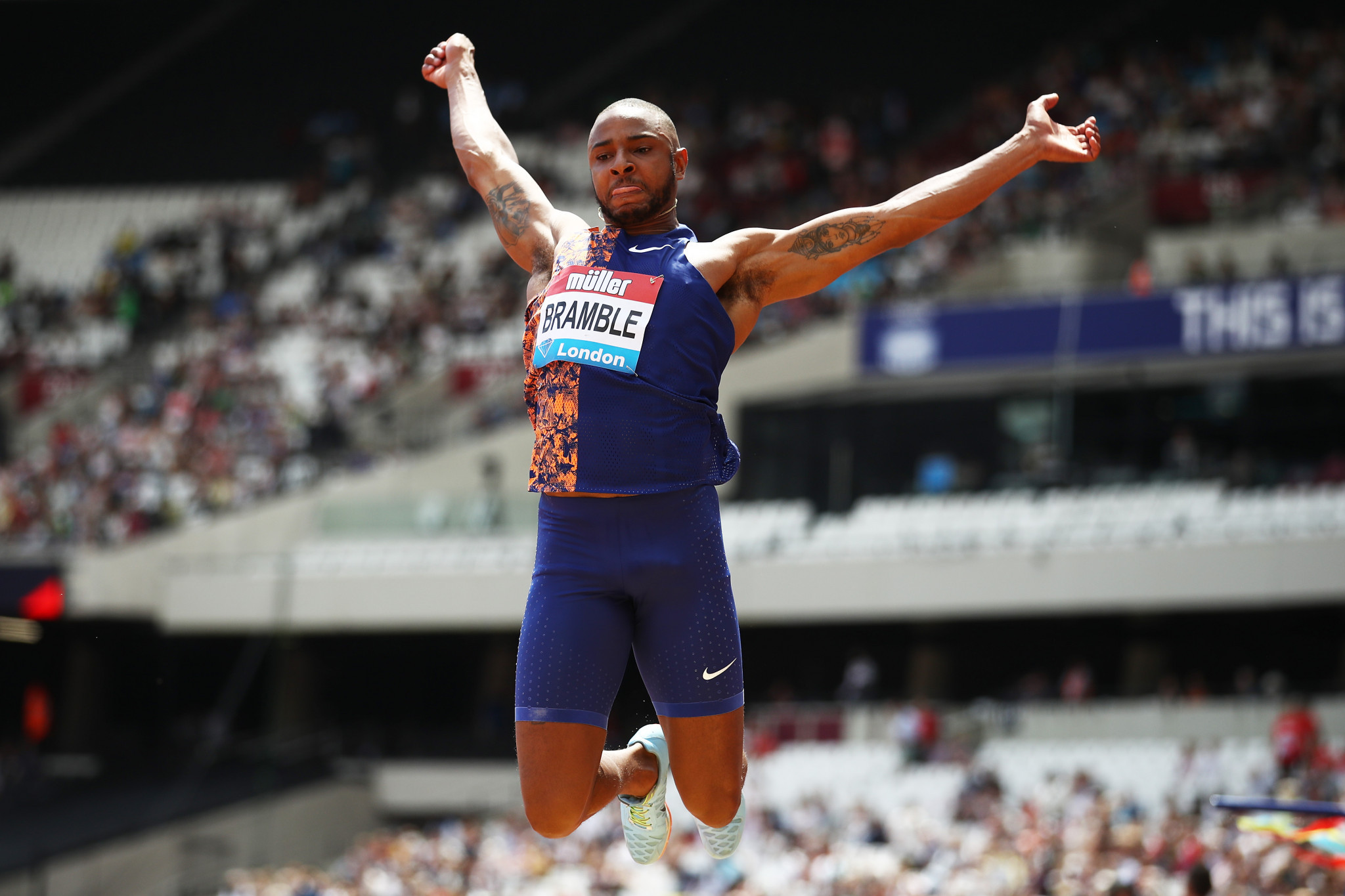 British long jumper Bramble reaches fundraising goal to aid Tokyo 2020 ambition