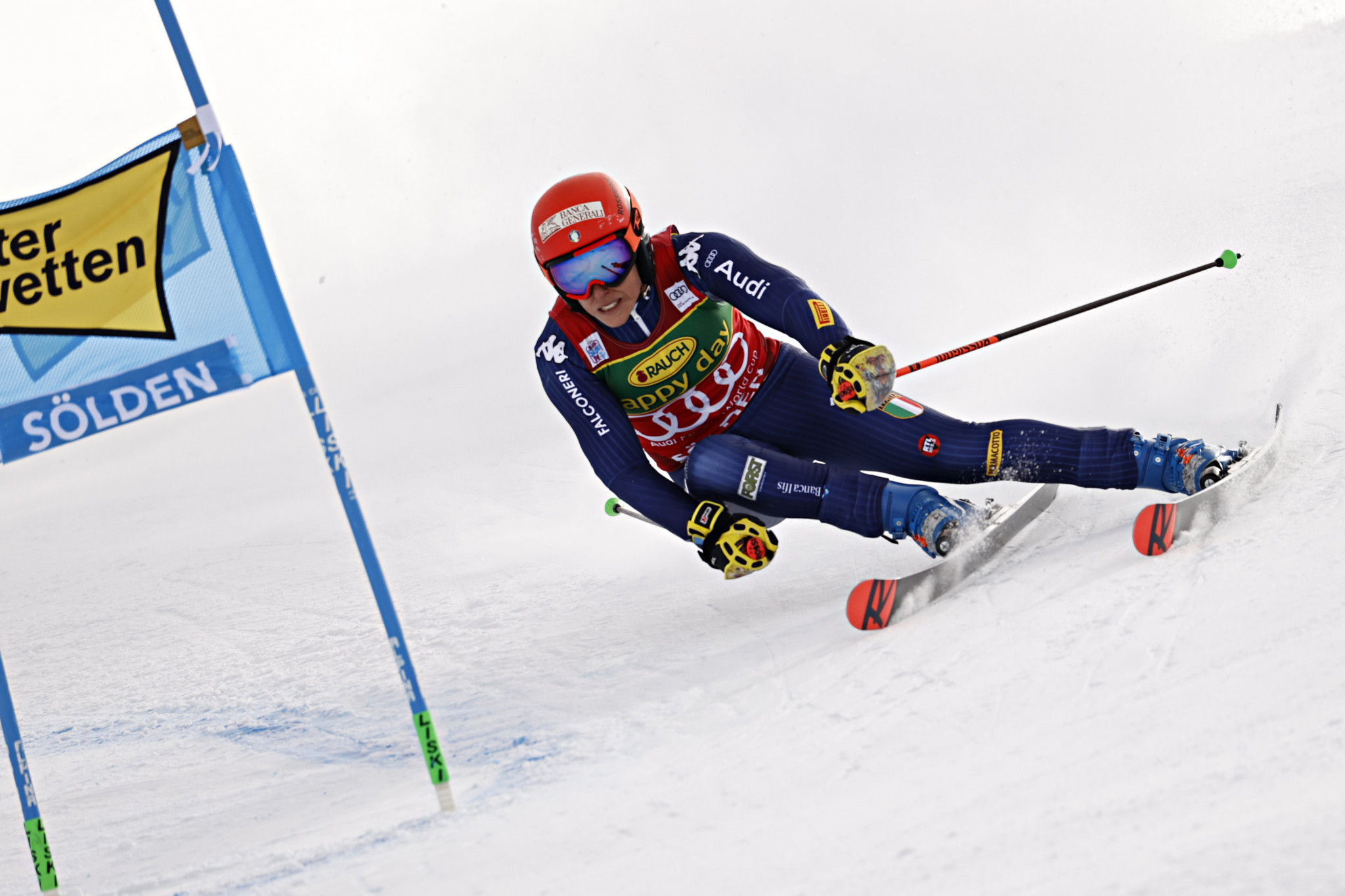 Federica Brignone of Italy was the runner-up at the FIS Alpine Ski World Cup event in Sölden ©Getty Images