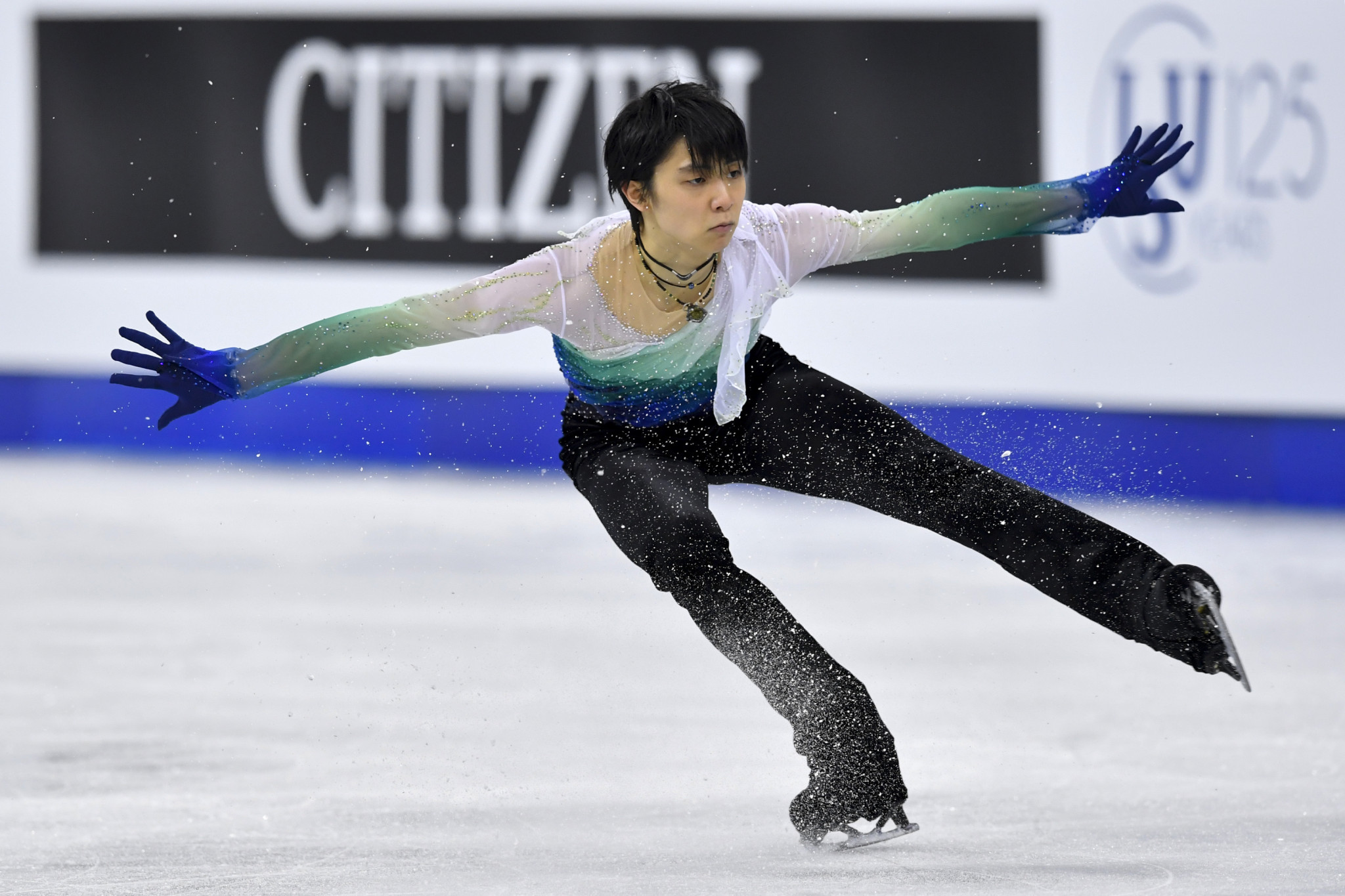 Japan's Yuzuru Hanyu won the men's title at this year's Four Continents Figure Skating Championships in Seoul ©Getty Images