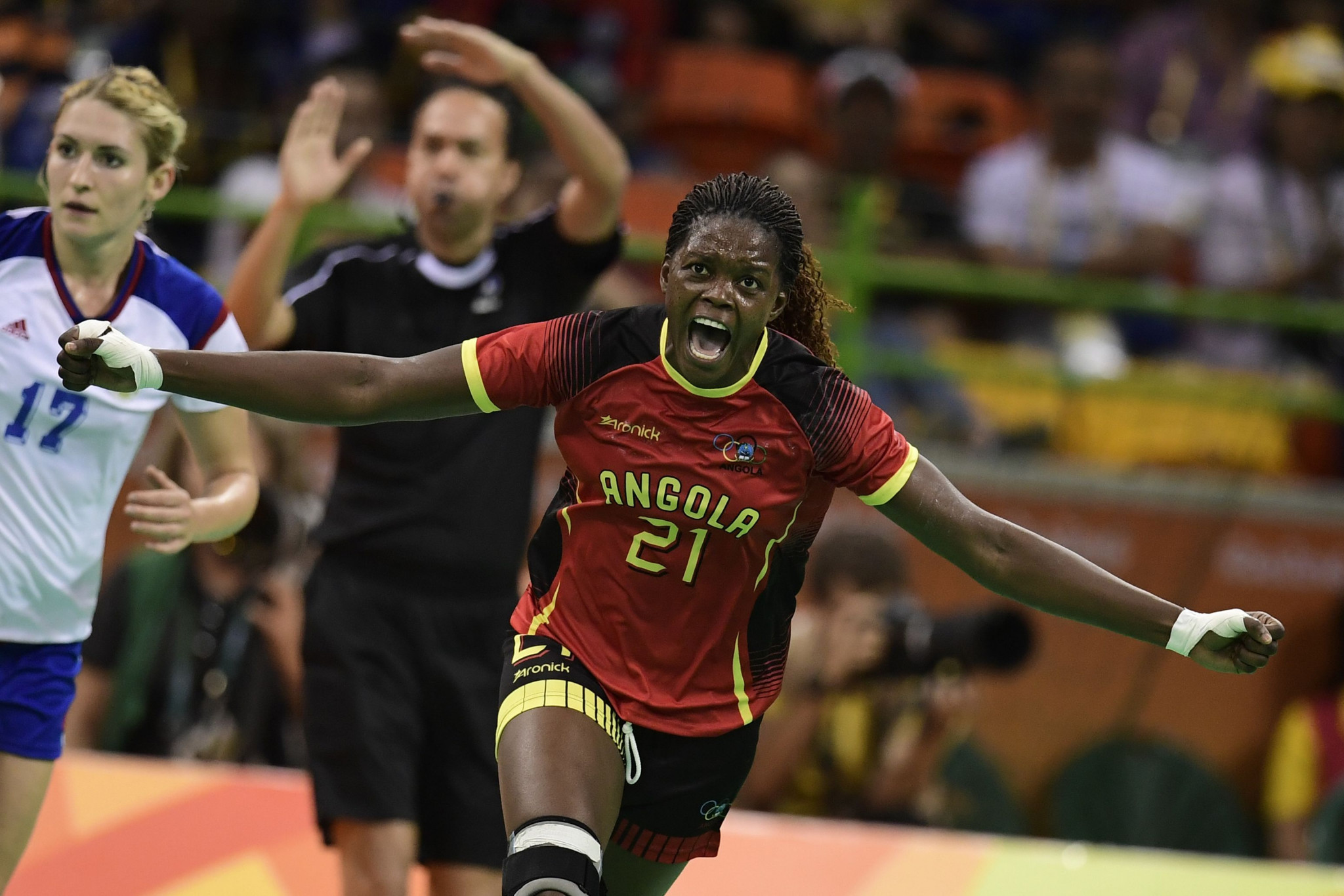 Angola has competed at seven Olympic Games in sports such as handball ©Getty Images