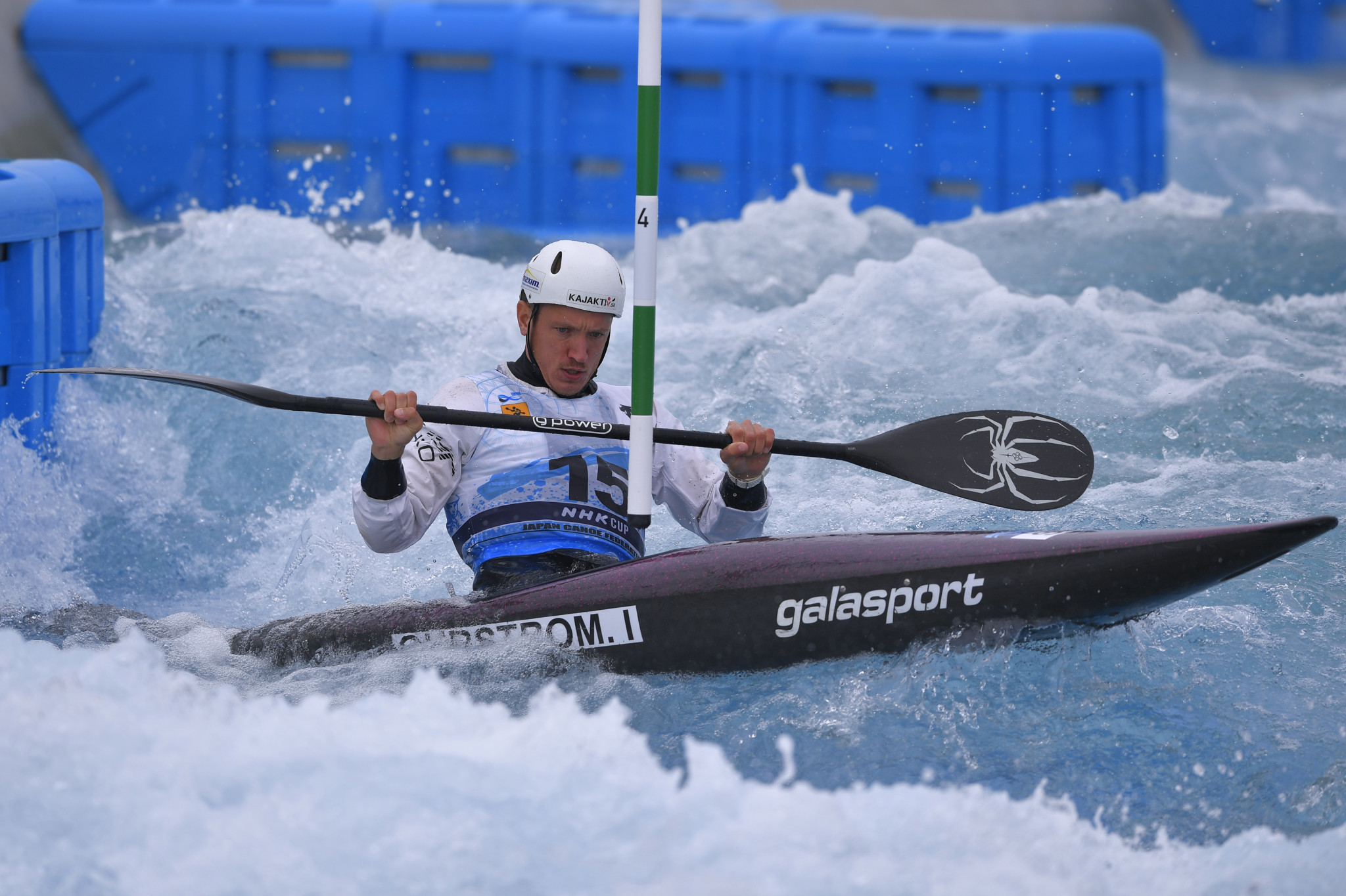 Ohrstrom boosts Tokyo 2020 case with historic Canoe Slalom World Cup gold for Sweden
