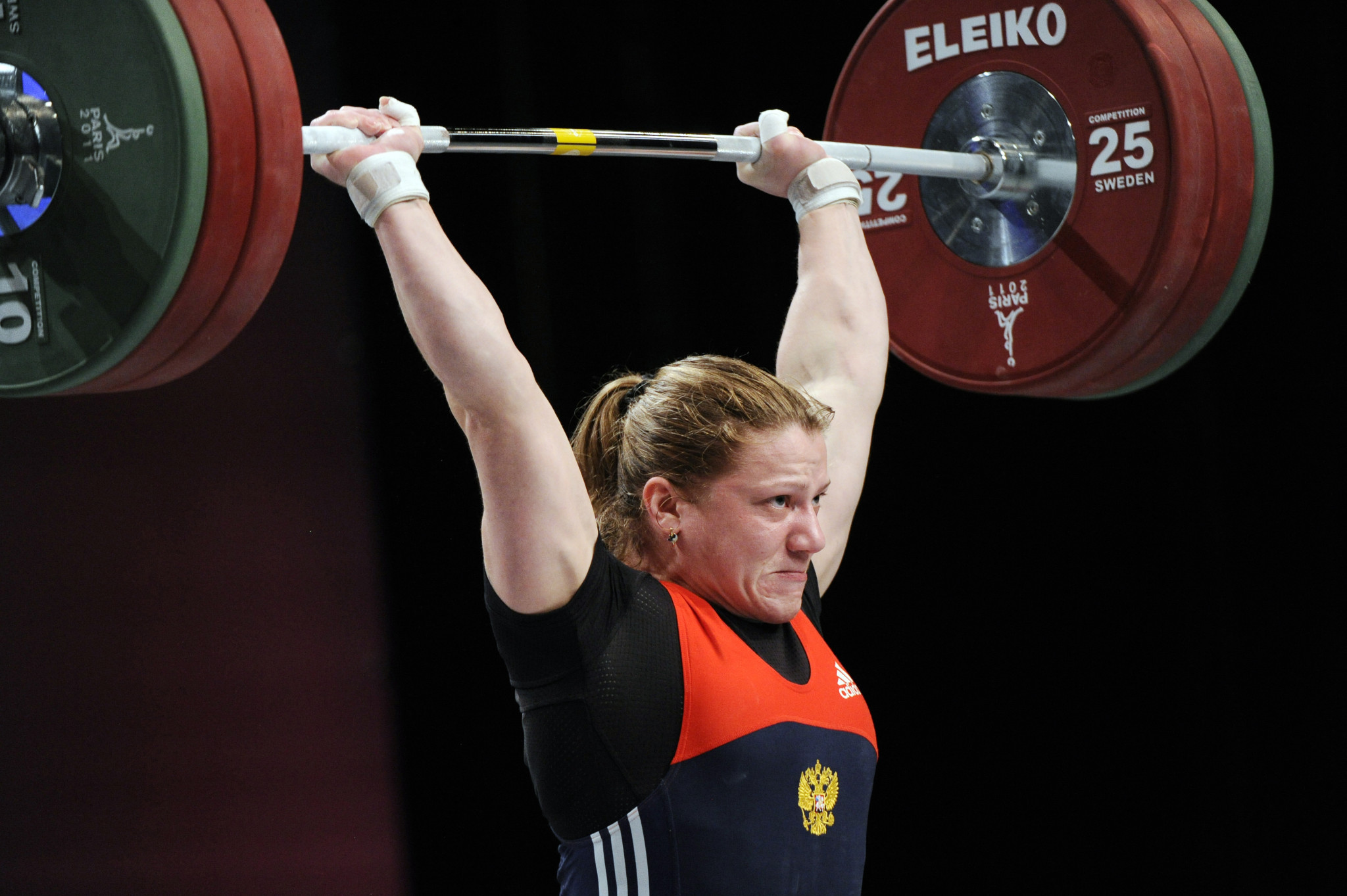 Svetlana Shimkova has been provisionally suspended on a doping charge by the IWF
