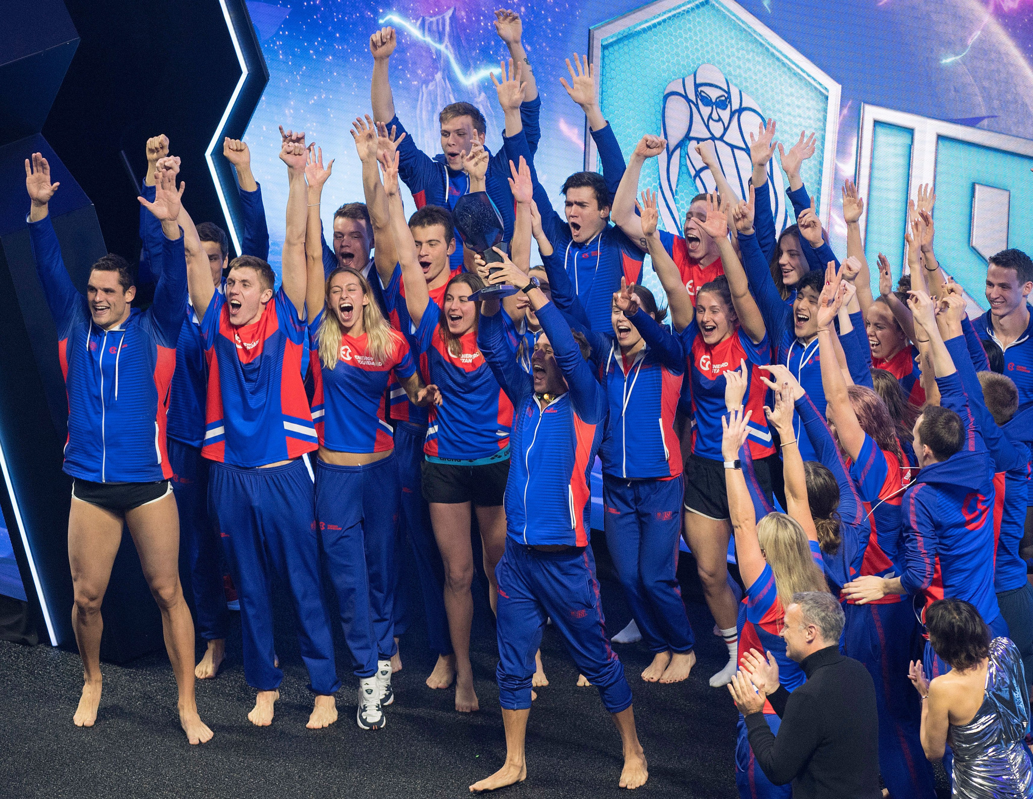 Defending champions Energy Standard could only finish second behind the Cali Condors in their first match of this year's International Swimming League ©Getty Images