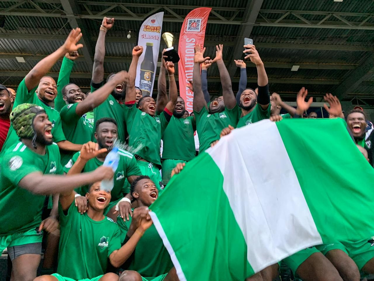 Nigeria is a recent addition as an affiliate member of the International Rugby League ©IRL
