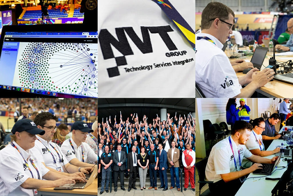 NVT Group previously provided IT support at the 2014 Commonwealth Games in Glasgow ©Birmingham 2022