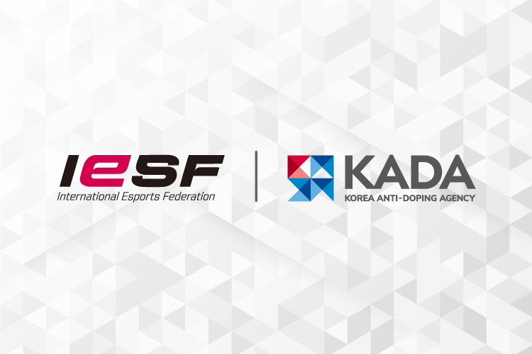 IESF and Korea Anti-Doping Agency to work on anti-doping programme for esports
