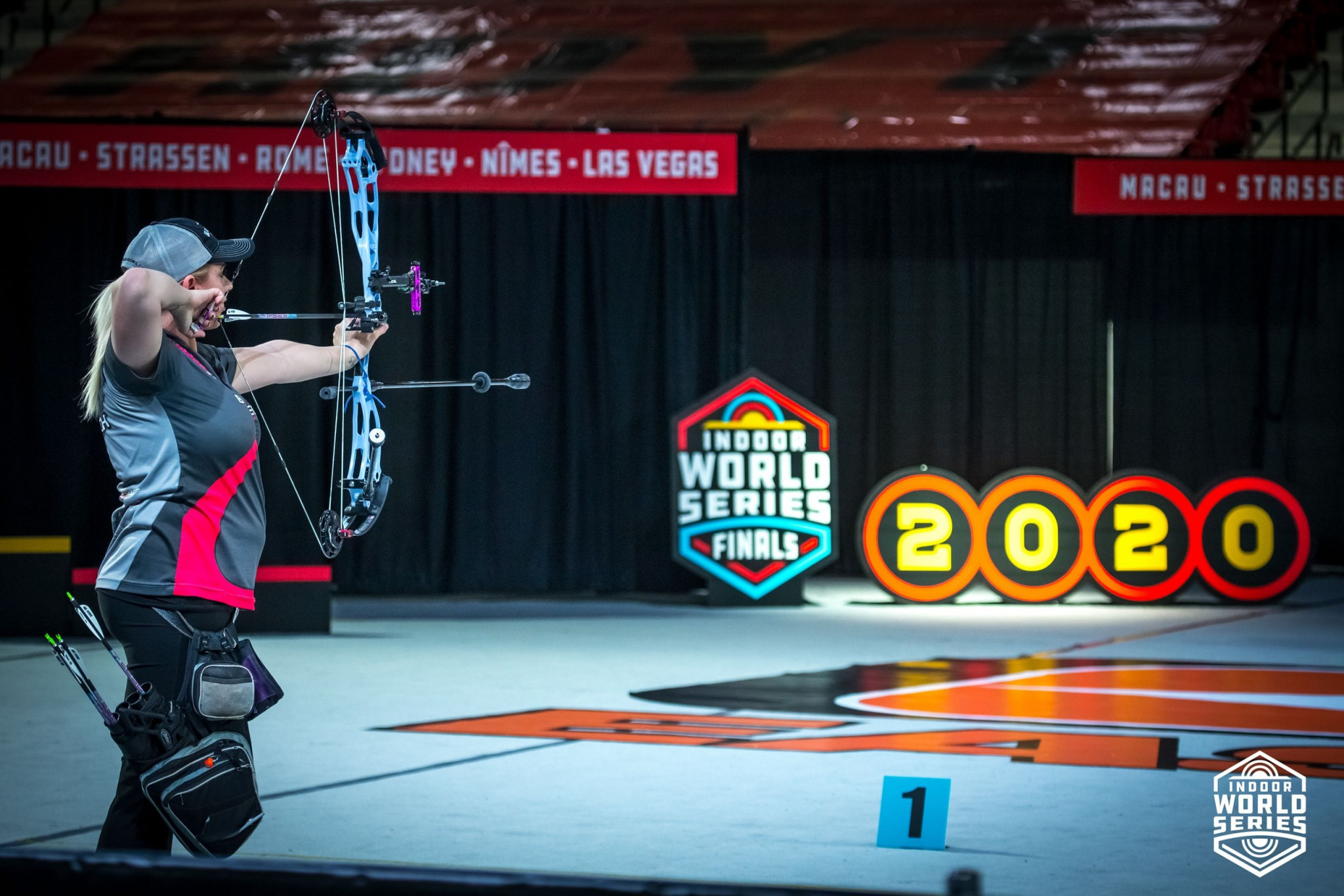 Archery will be able to participate in events held in Switzerland, France and the United States as part of the virtual Indoor Archery World Series ©World Archery
