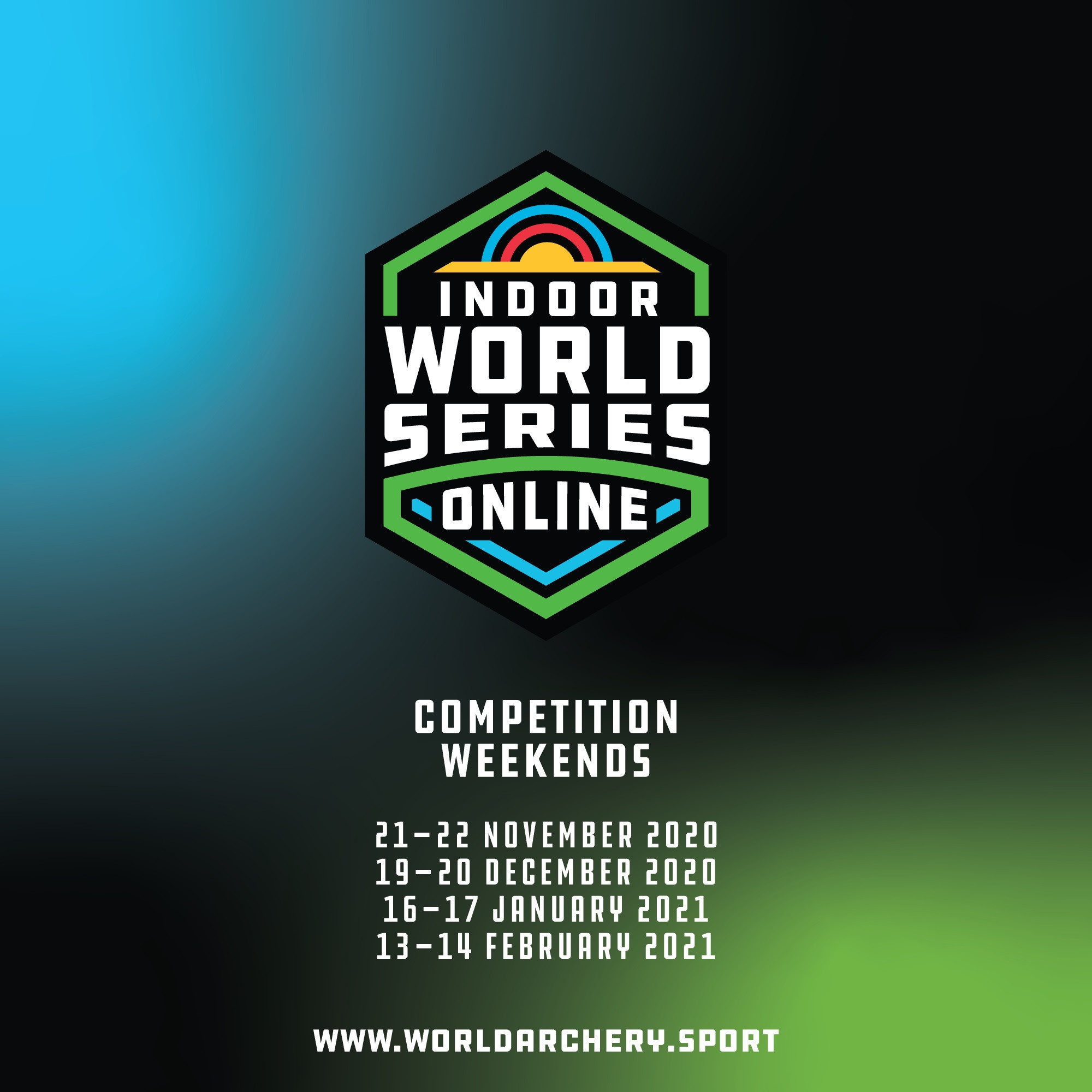 The Indoor Archery World Series will be held online over four weekends from November to February ©World Archery