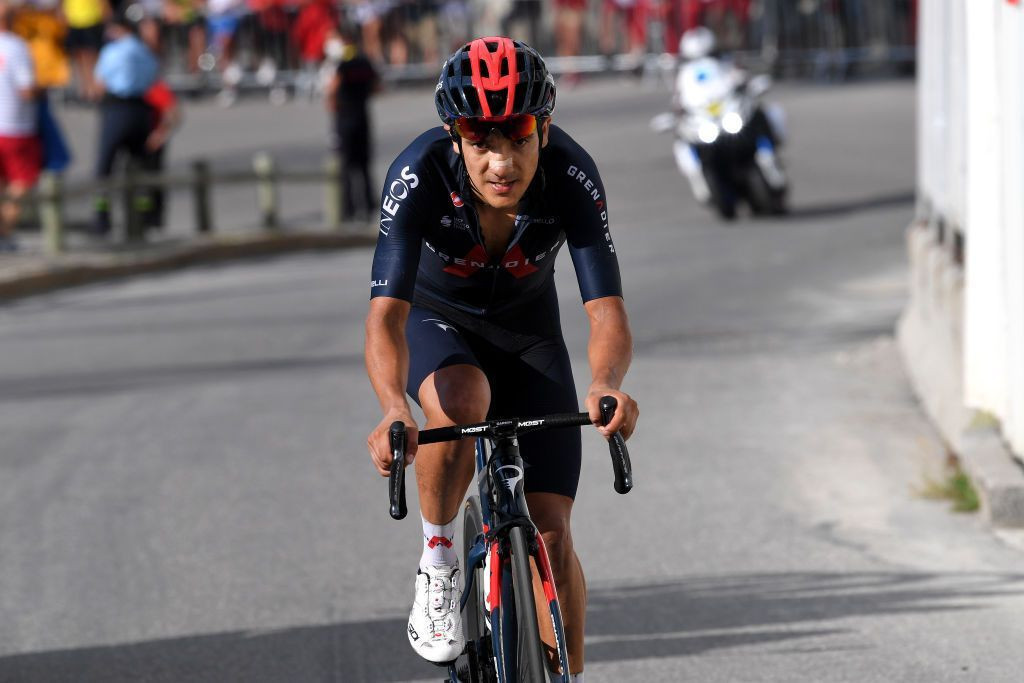 Richard Carapaz heads into the Vuelta a España as one of the favourites ©Getty Images