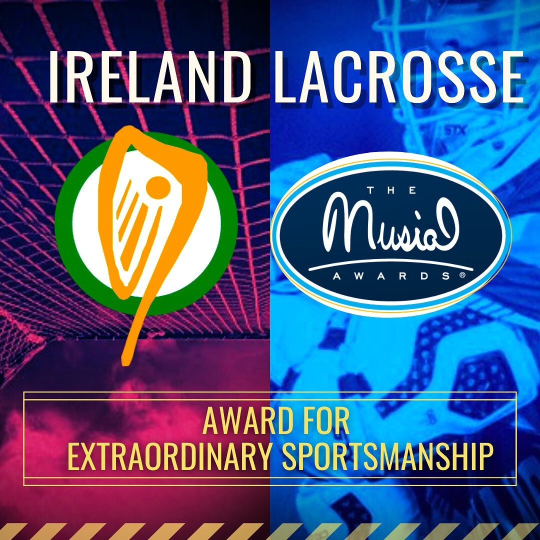 "Ireland Lacrosse set for award in recognition of ""selfless"" World Games withdrawal"