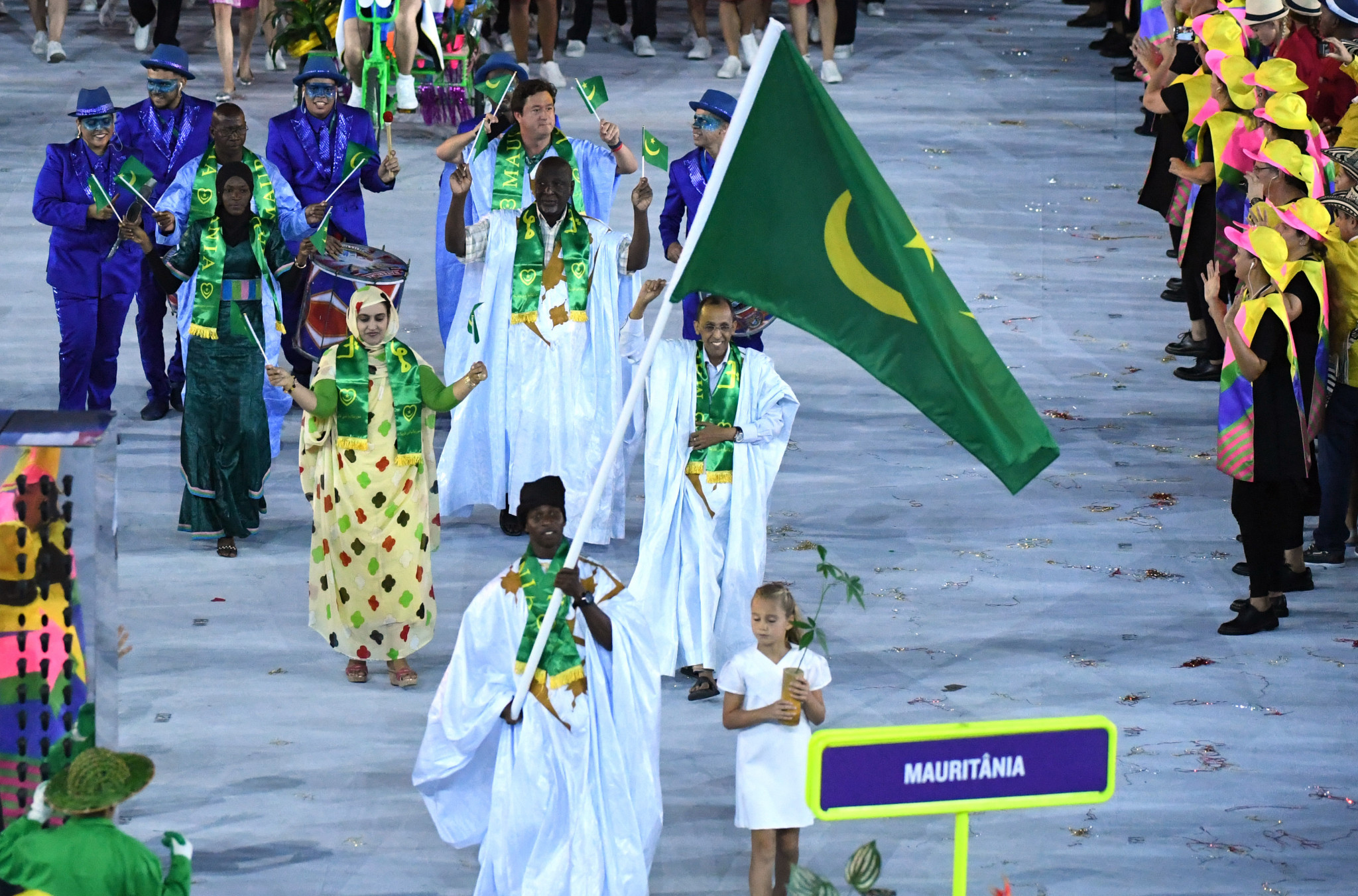 Mauritania has competed at every Summer Olympics since Los Angeles 1984 ©Getty Images