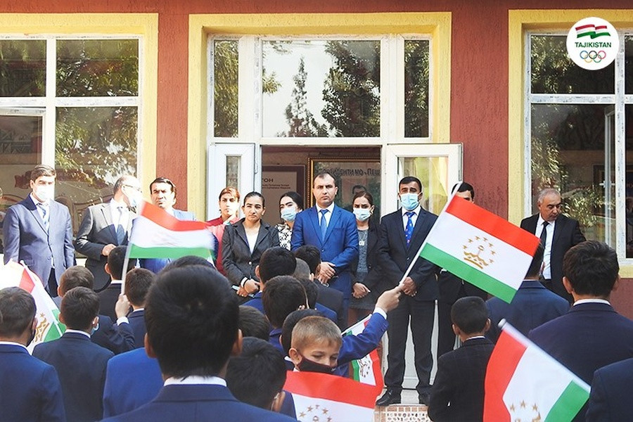 National Olympic Committee of Tajikistan refurbishes sports boarding school