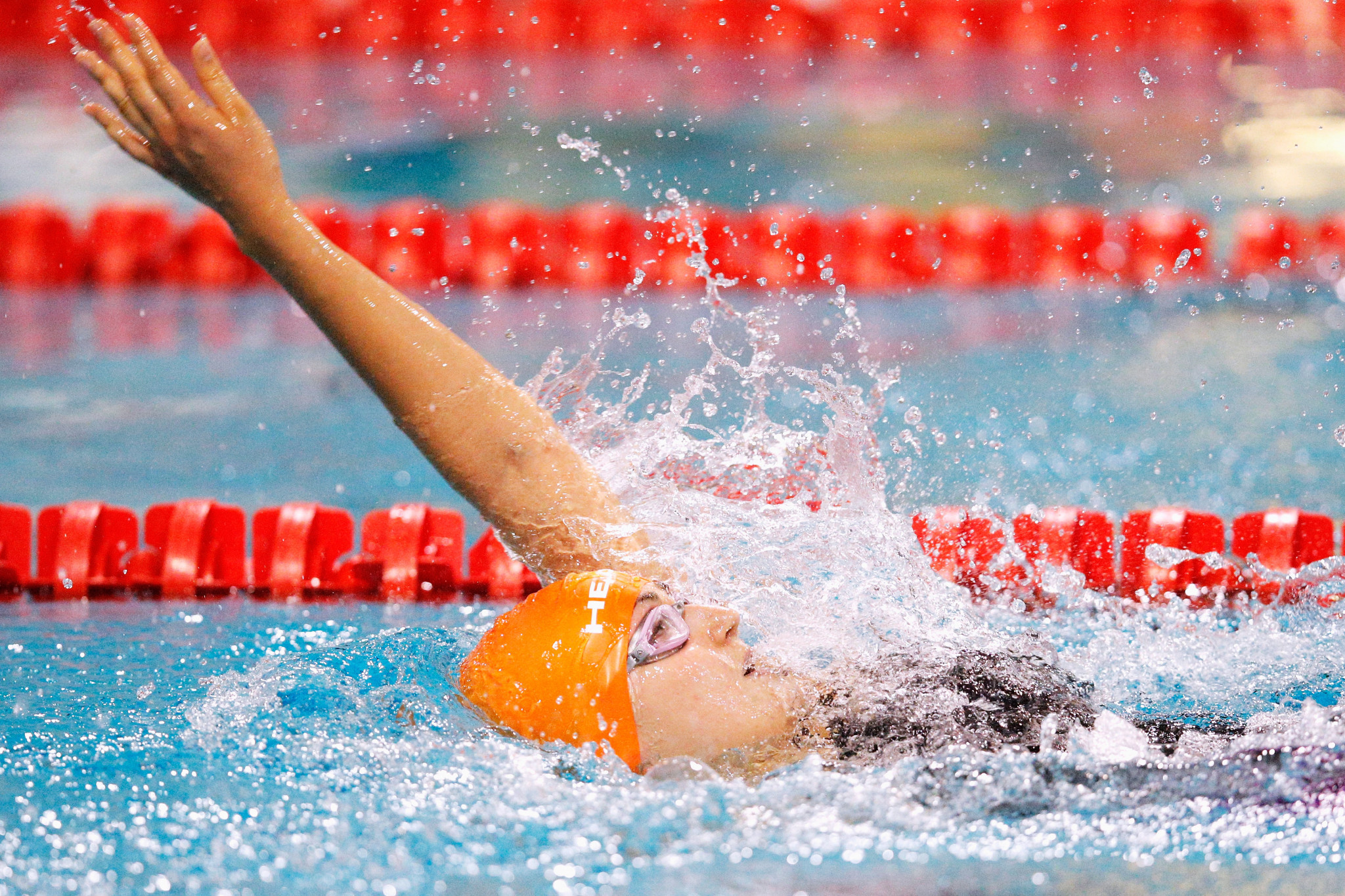 Germany's Elena Krawzow may have broken a world record at the World Para Swimming World Series in Berlin ©Getty Images